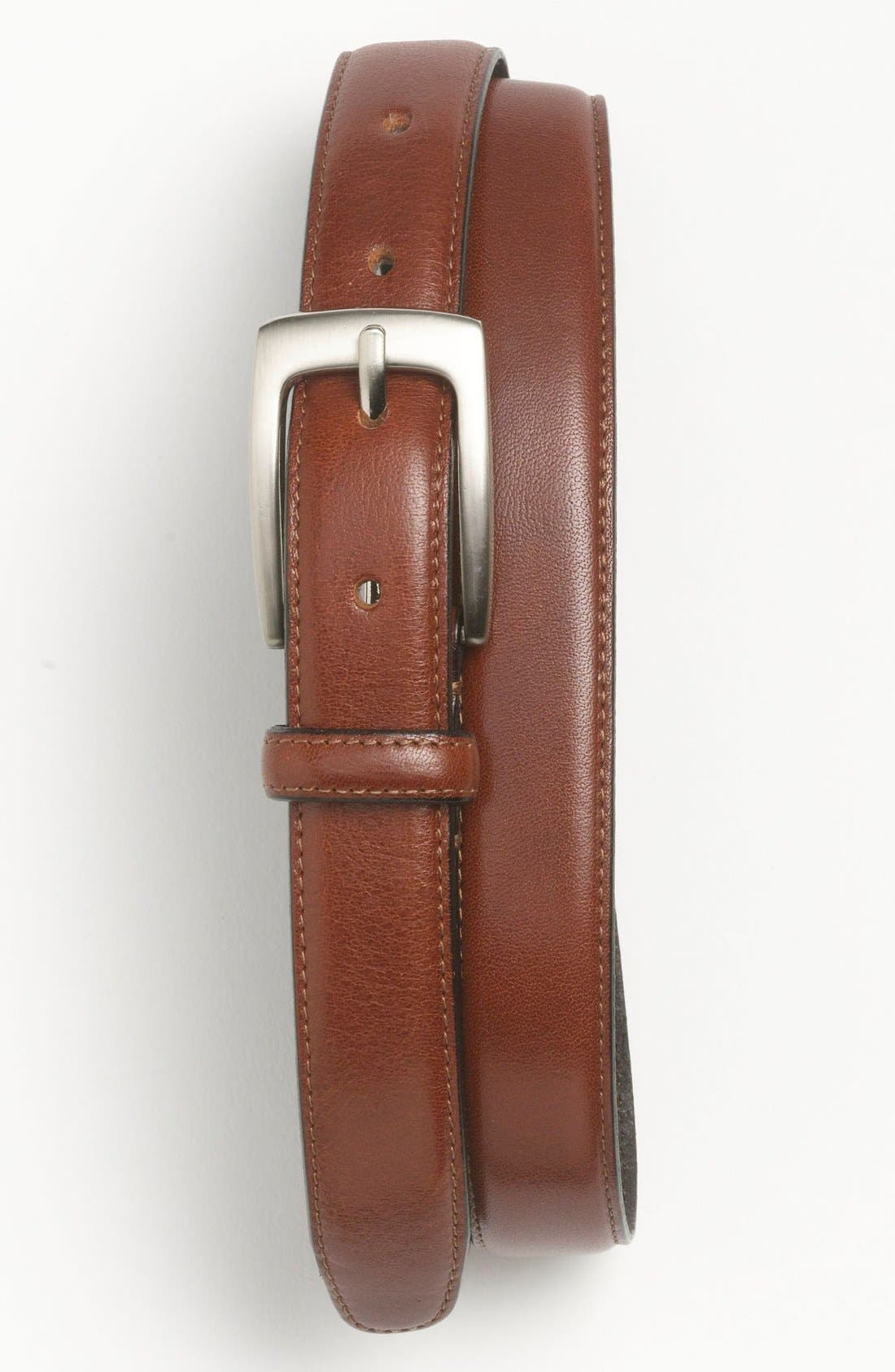 Alternate Image 1 Selected - Topman Leather Belt