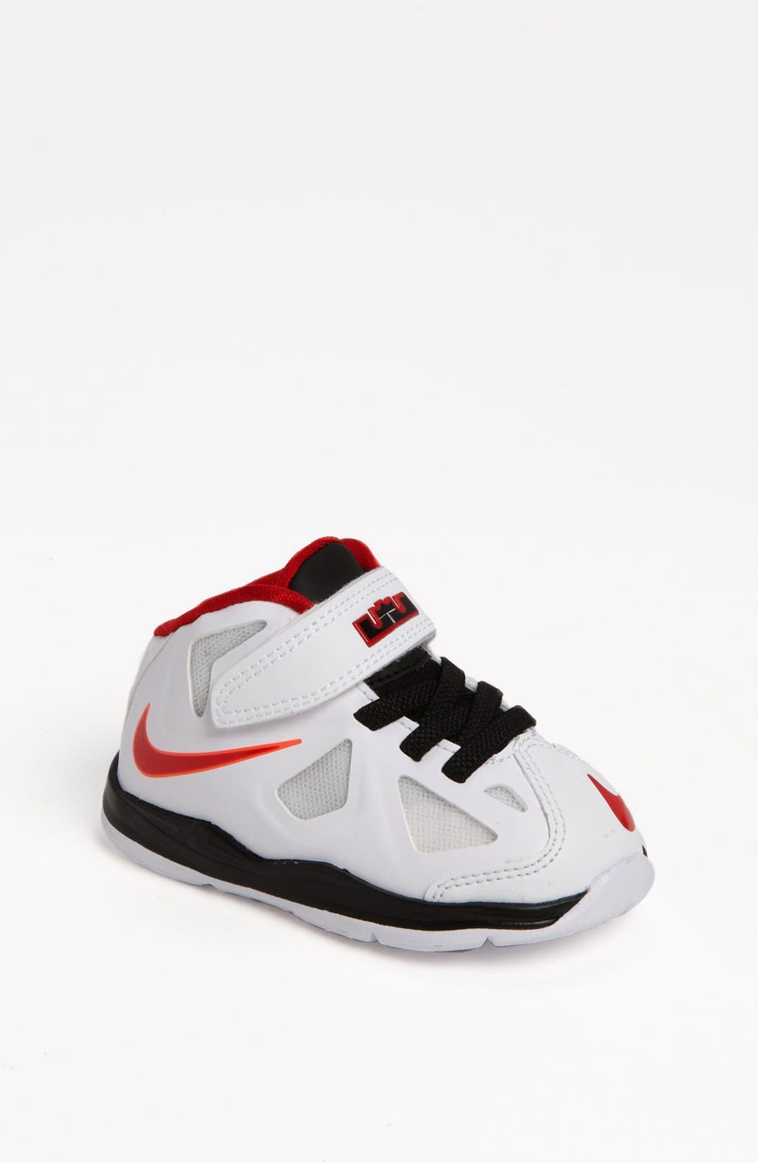 Alternate Image 1 Selected - Nike 'LeBron 10' Basketball Shoe (Baby, Walker & Toddler)