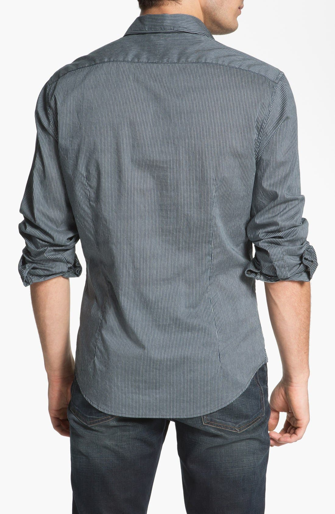 Alternate Image 2  - John Varvatos Star USA Regular Fit Sport Shirt