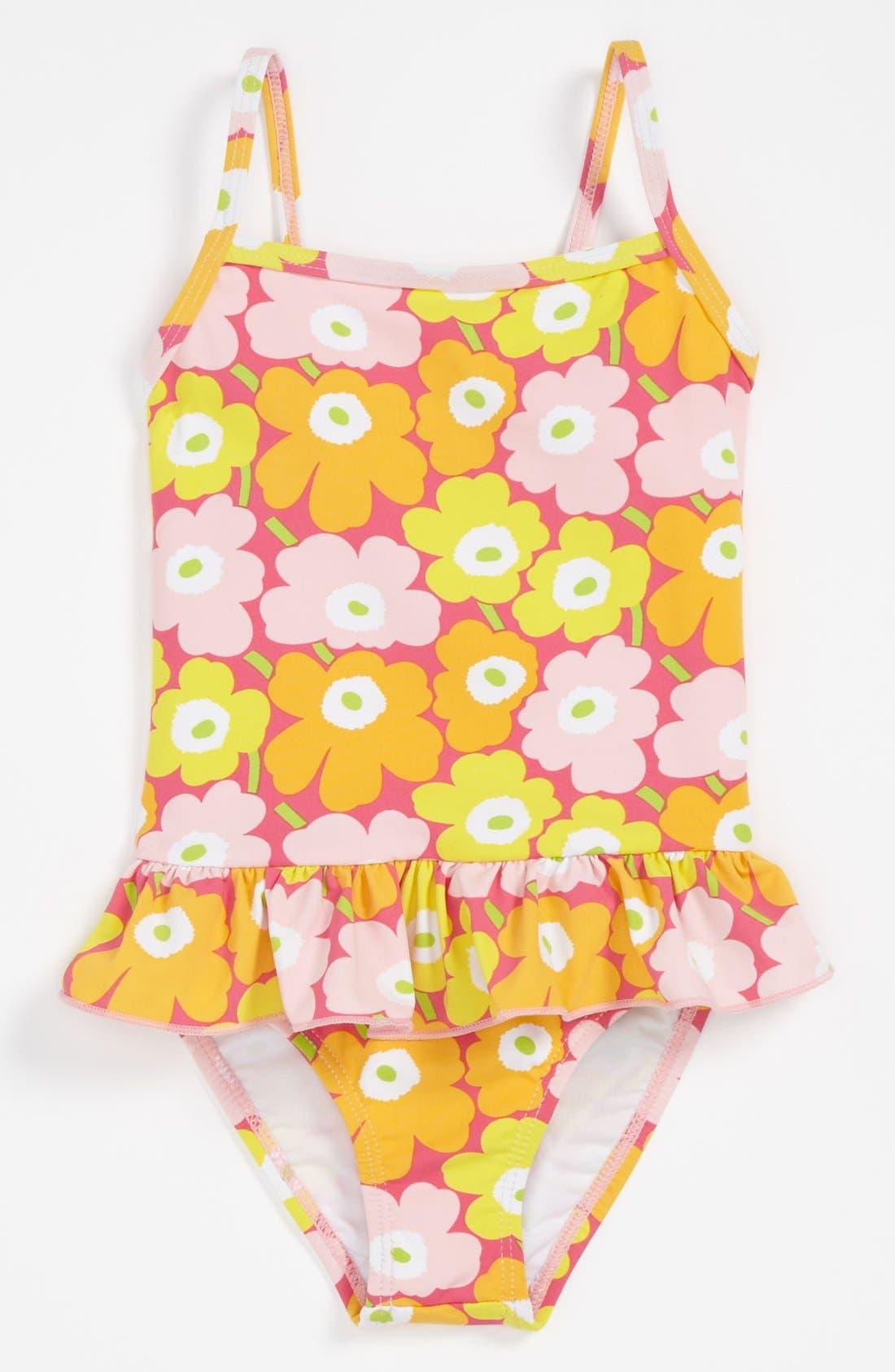Alternate Image 1 Selected - Marimekko One Piece Swimsuit (Baby)