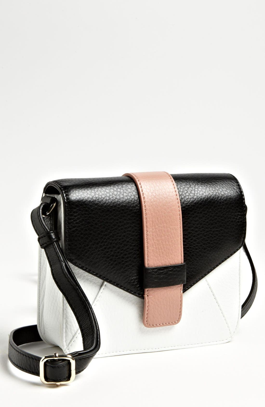 Alternate Image 1 Selected - Halogen 'Ella' Colorblock Crossbody Bag