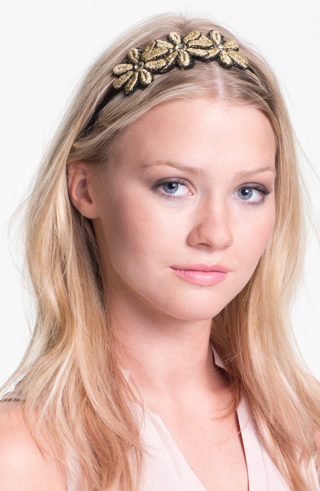Main Image - Cara 'Triple Daisy' Head Wrap