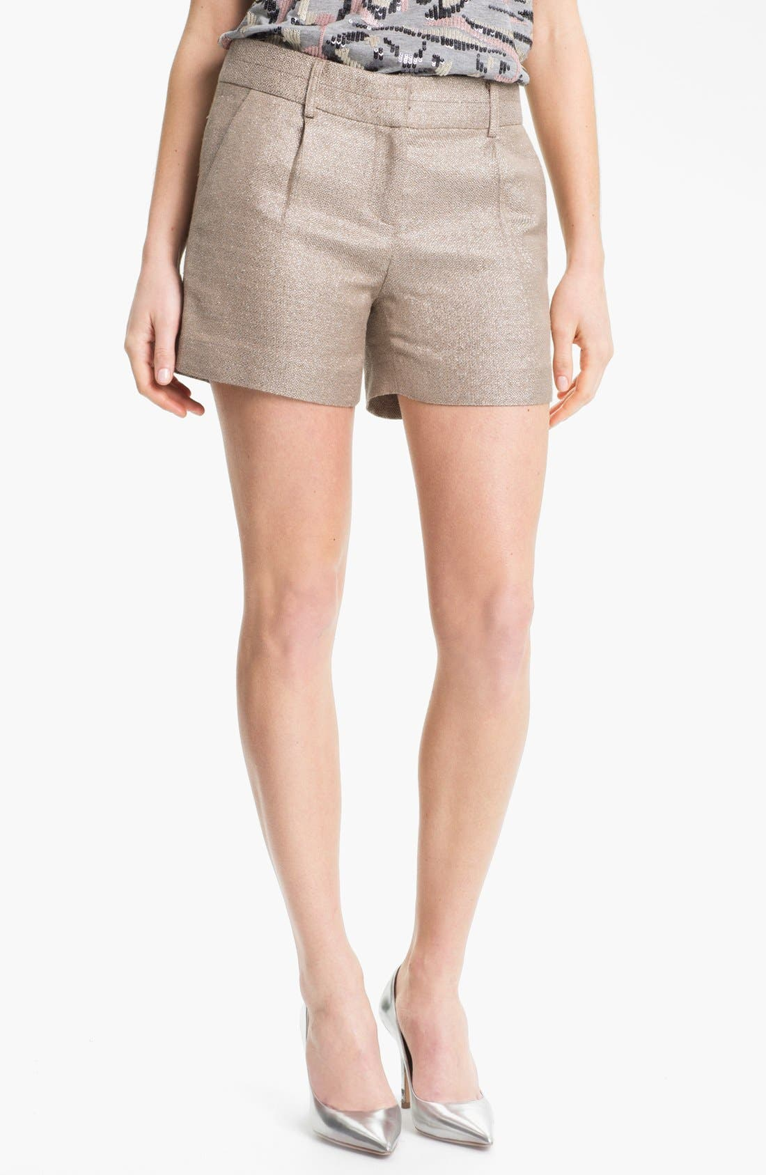 Alternate Image 1 Selected - Milly Tweed Shorts
