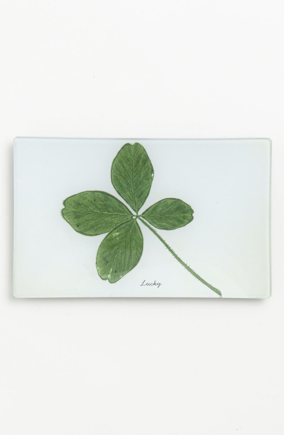 Alternate Image 1 Selected - Ben's Garden 'Lucky Four Leaf Clover' Trinket Tray