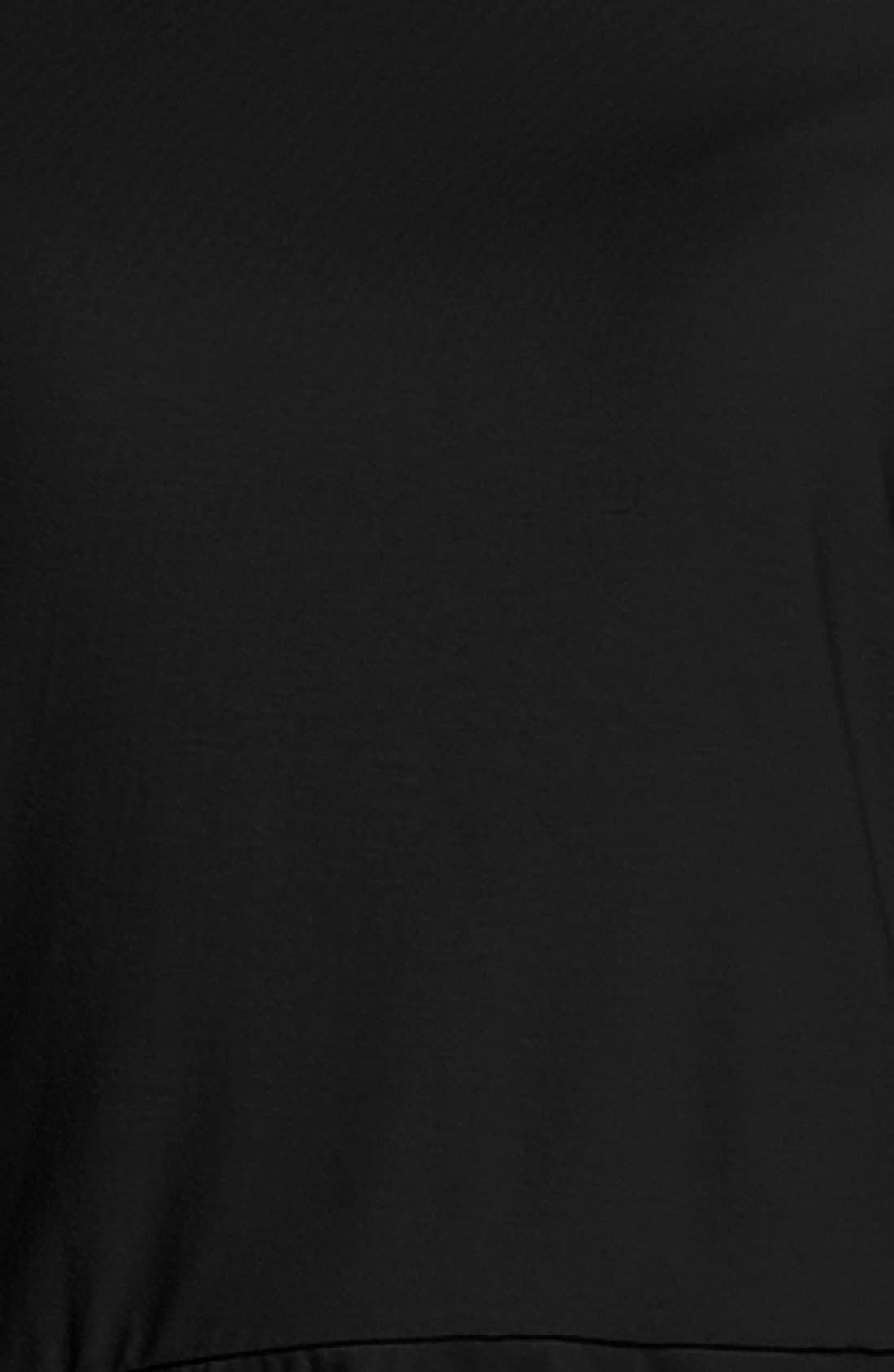 Alternate Image 3  - Vince Camuto Cap Sleeve Peplum Top