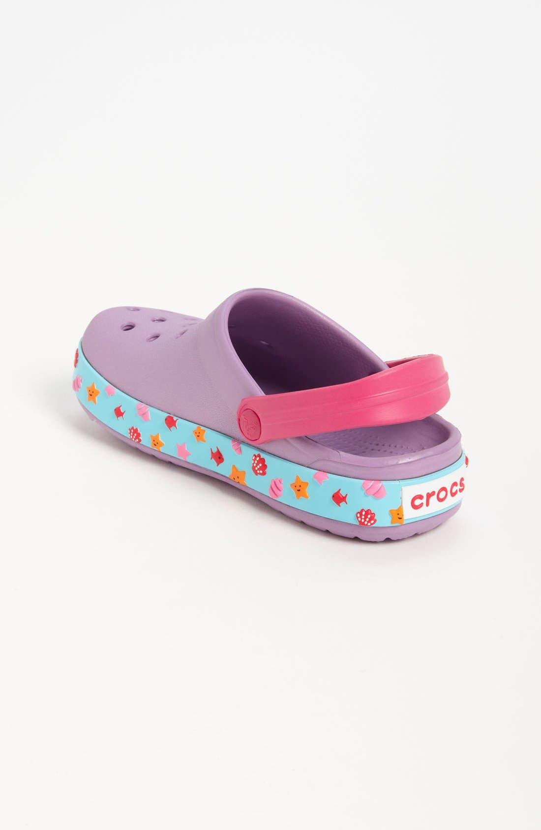 Alternate Image 2  - CROCS™ 'Hello Kitty® - Mermaid' Slip-On (Walker & Toddler)
