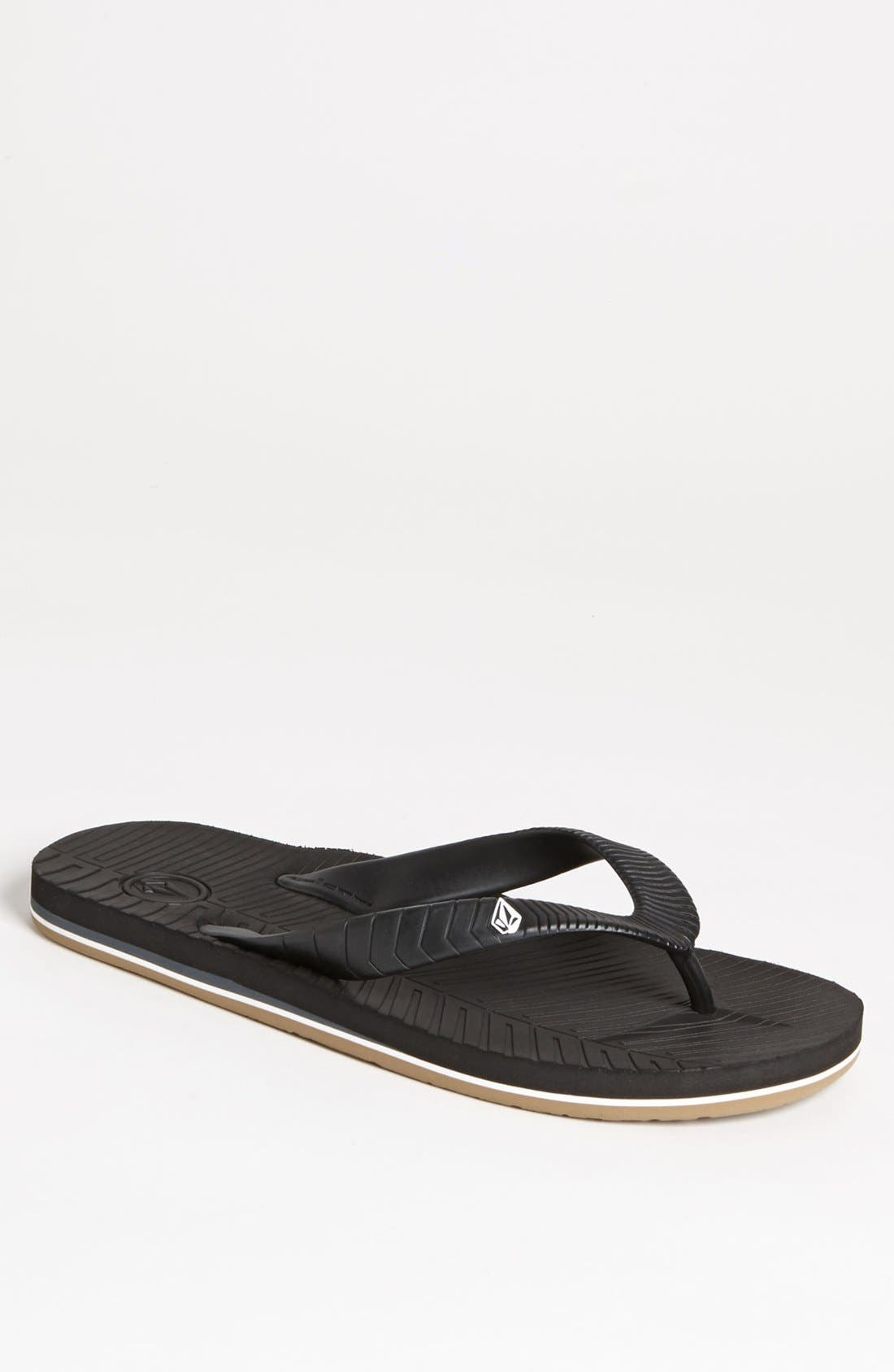Alternate Image 1 Selected - Volcom 'Concourse' Flip Flop (Men)