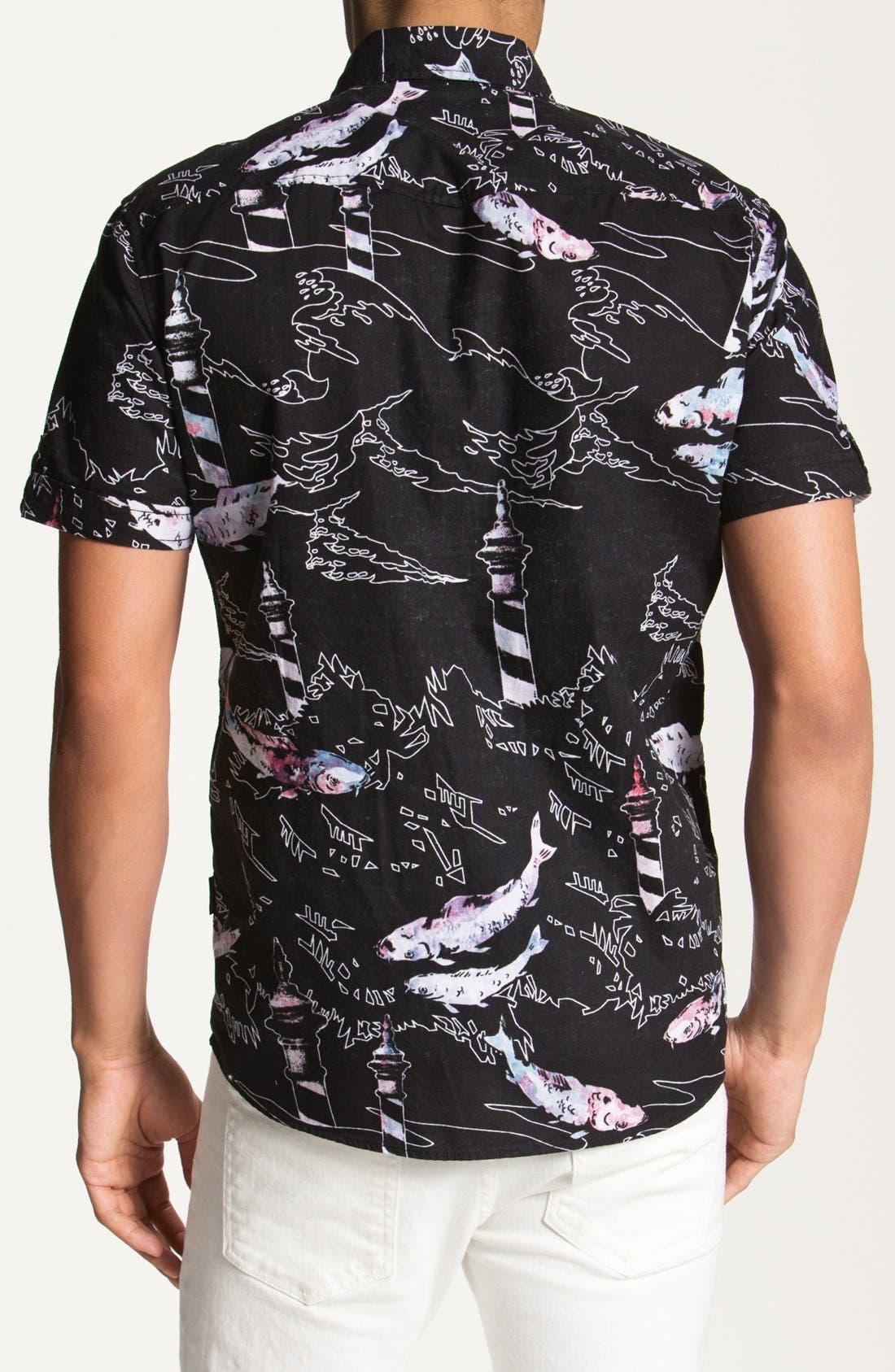 Alternate Image 3  - 55DSL 'Sopelana' Short Sleeve Woven Shirt