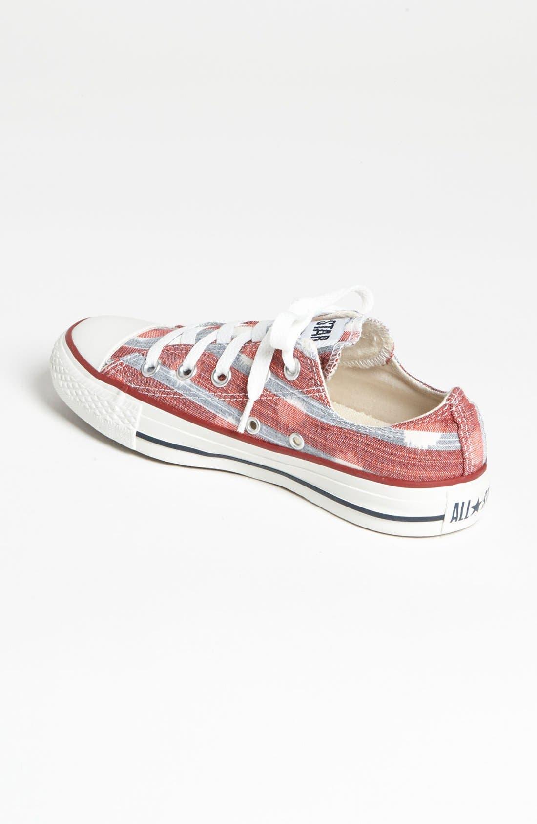 Alternate Image 2  - Converse Chuck Taylor® All Star® 'Stripes' Sneaker (Women)