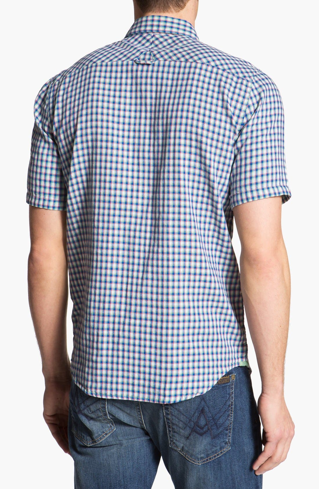 Alternate Image 3  - Volcom 'Lanford' Short Sleeve Check Woven Shirt