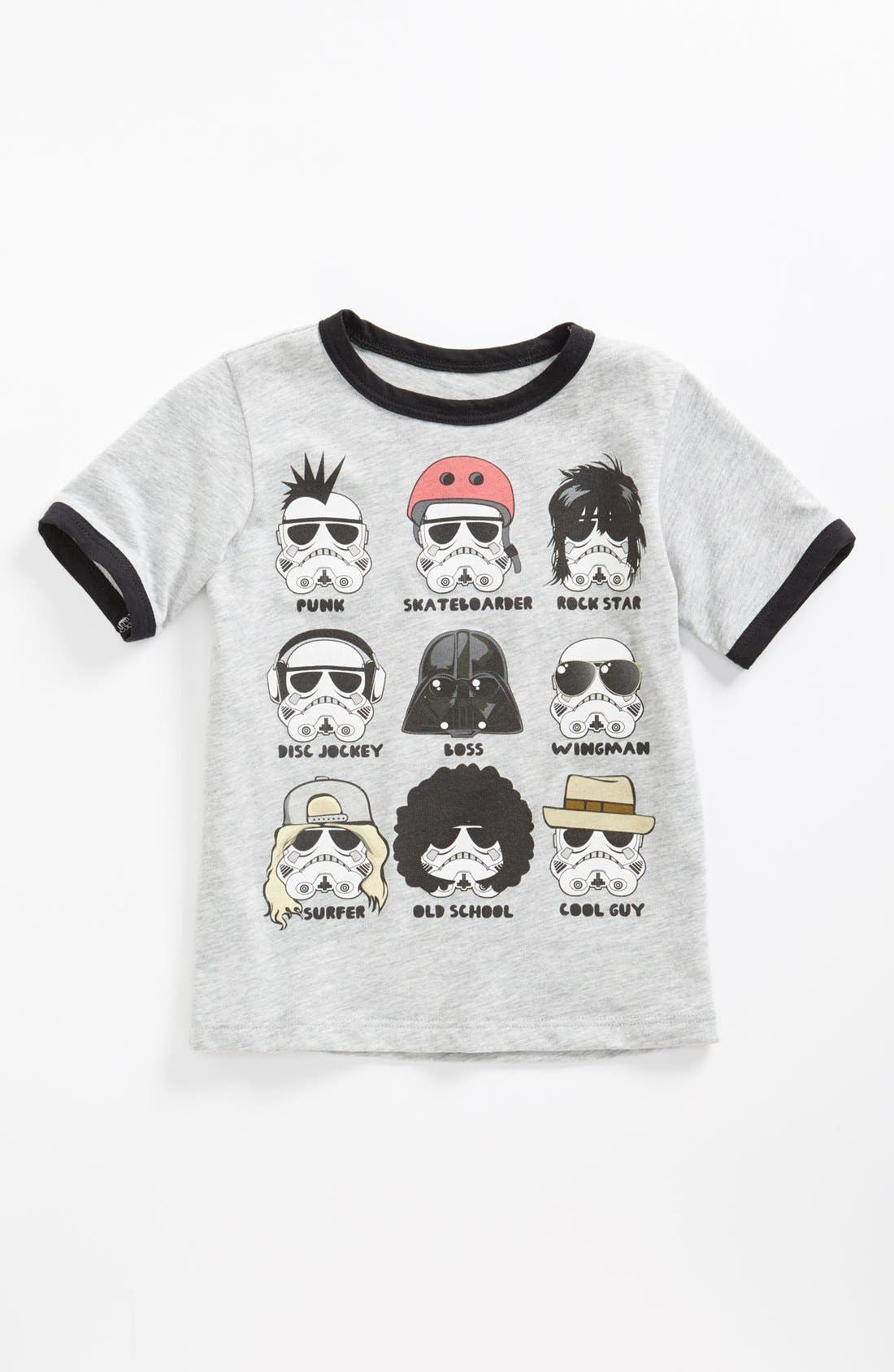 Alternate Image 1 Selected - Mighty Fine 'Star Wars™' T-Shirt (Toddler)