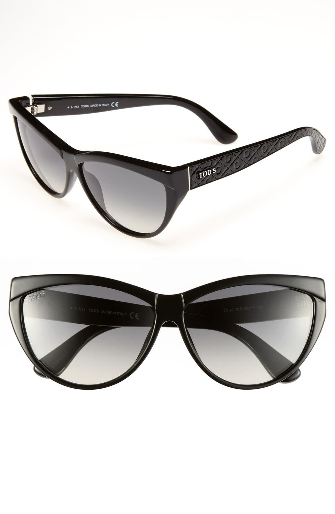 Main Image - Tod's 62mm Cat's Eye Sunglasses
