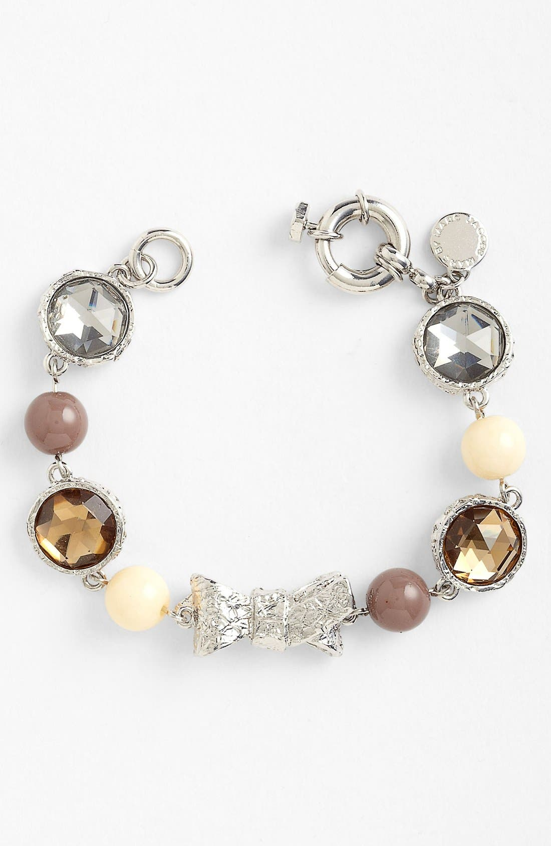 Alternate Image 1 Selected - MARC BY MARC JACOBS 'Exploded Bow' Line Bracelet