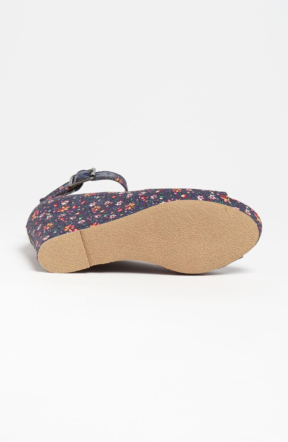 Alternate Image 4  - Steve Madden 'Lesliee' Ankle Strap Wedge Sandal