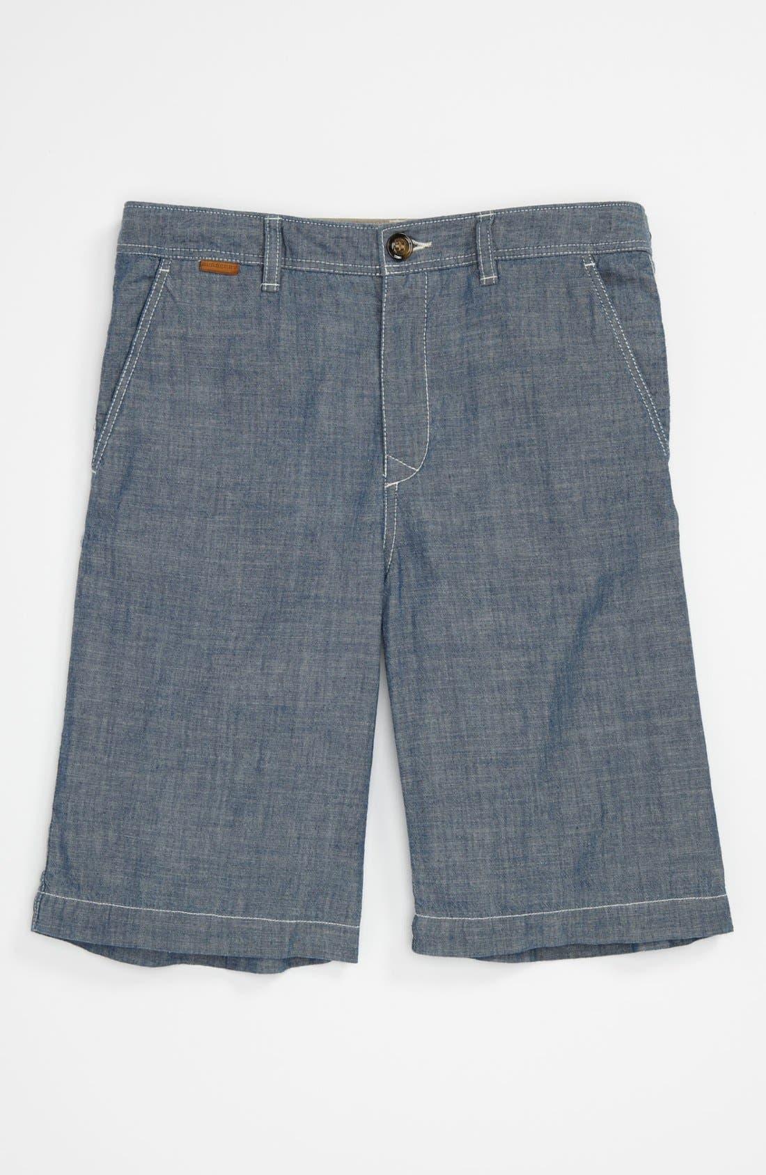 Alternate Image 1 Selected - Burberry 'Santos' Shorts (Little Boys & Big Boys)