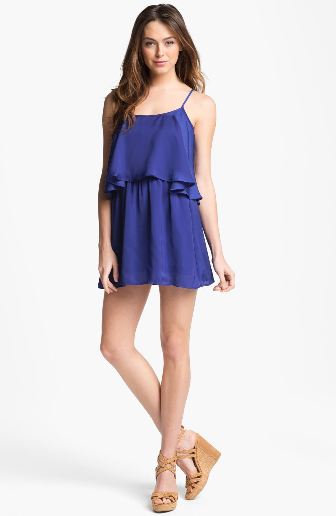 Alternate Image 1 Selected - Lovers + Friends 'Sunkissed' Tiered Layer Dress