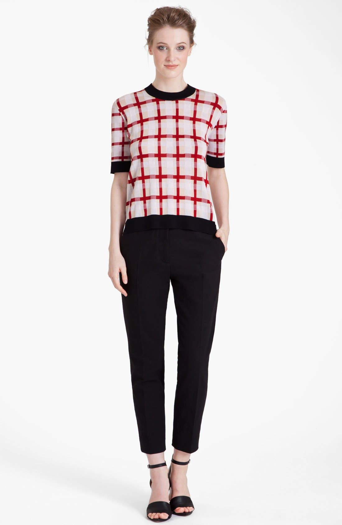 Alternate Image 1 Selected - Marni Grid Pattern Sweater