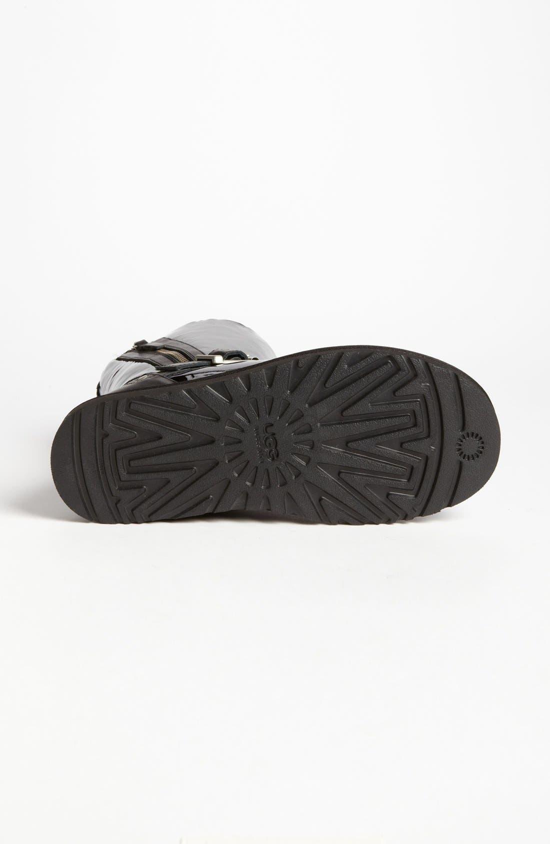 Alternate Image 4  - UGG® Australia 'Blaise' Patent Boot (Women)