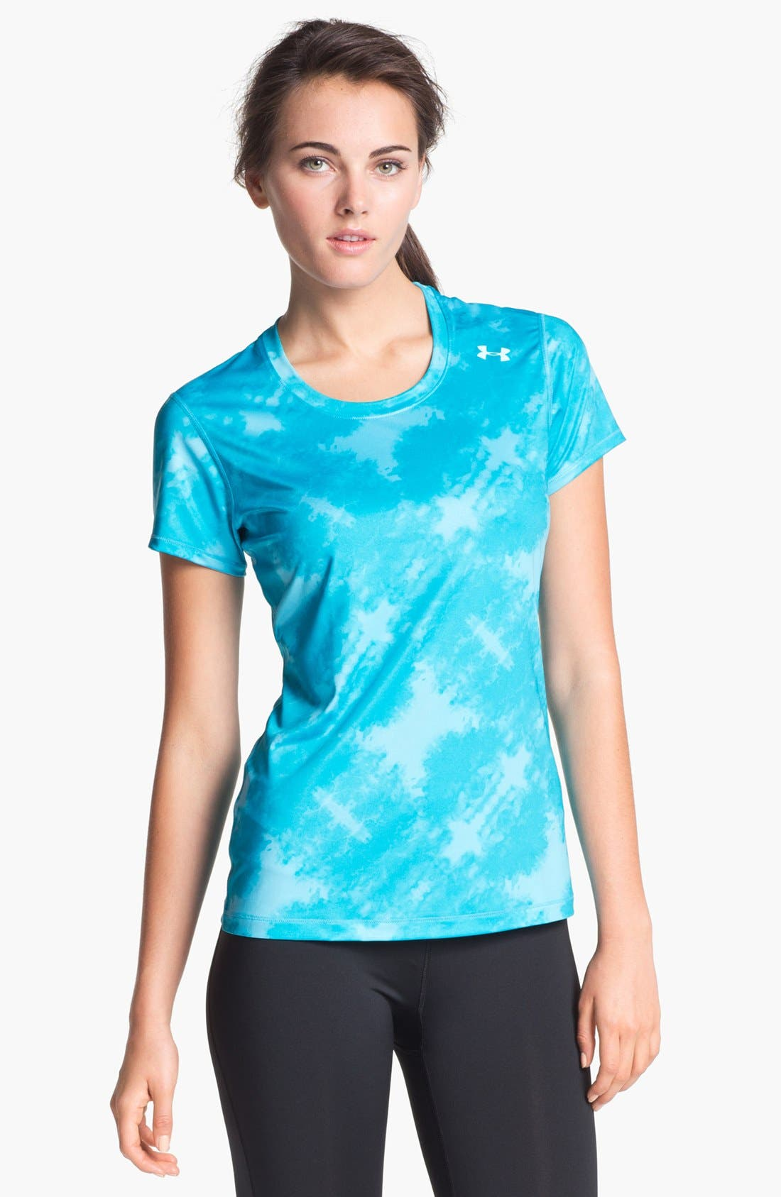 Alternate Image 1 Selected - Under Armour 'Hot Shot' Print Tee