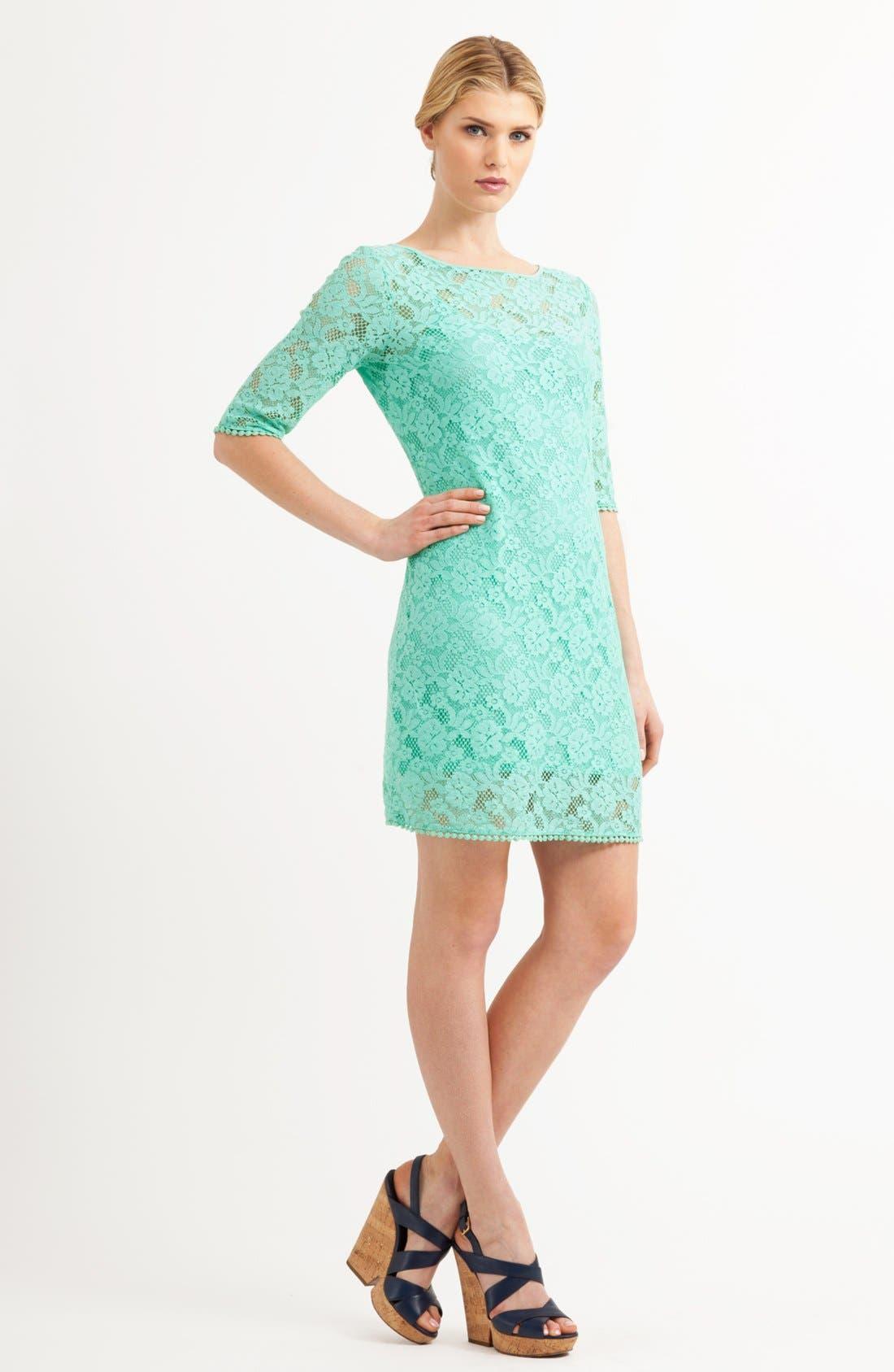 Alternate Image 3  - Three Dots Lace Shift Dress