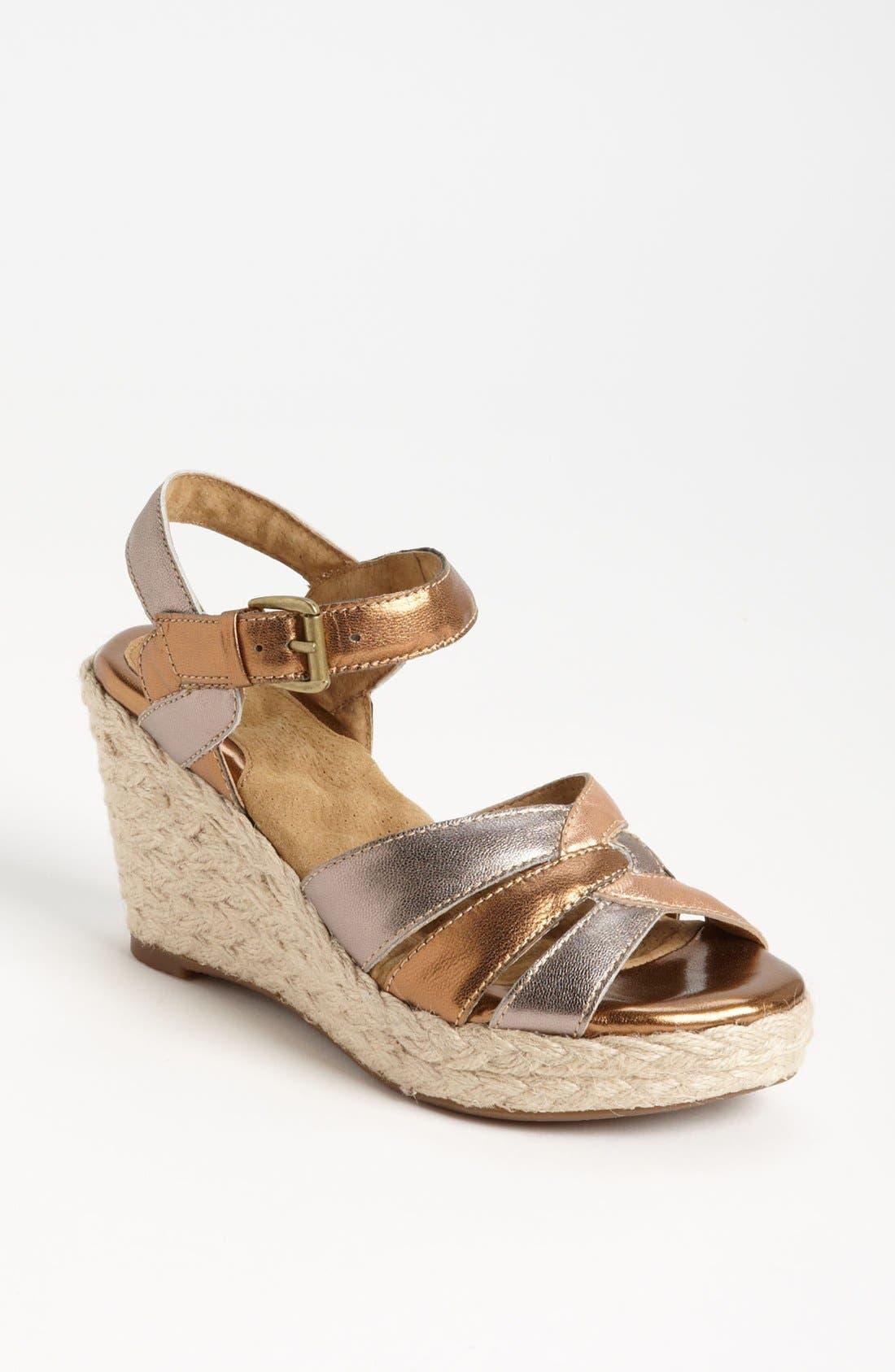 Main Image - SoftWalk® 'St. Helena' Wedge Sandal