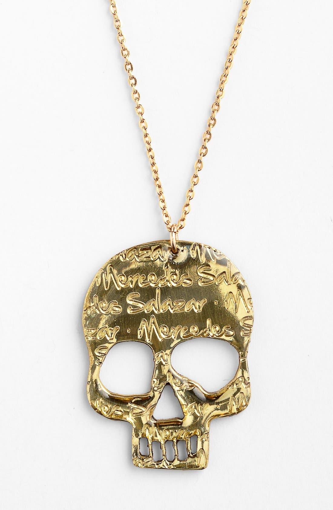 Alternate Image 2  - MERCEDES SALAZAR Skull Necklace