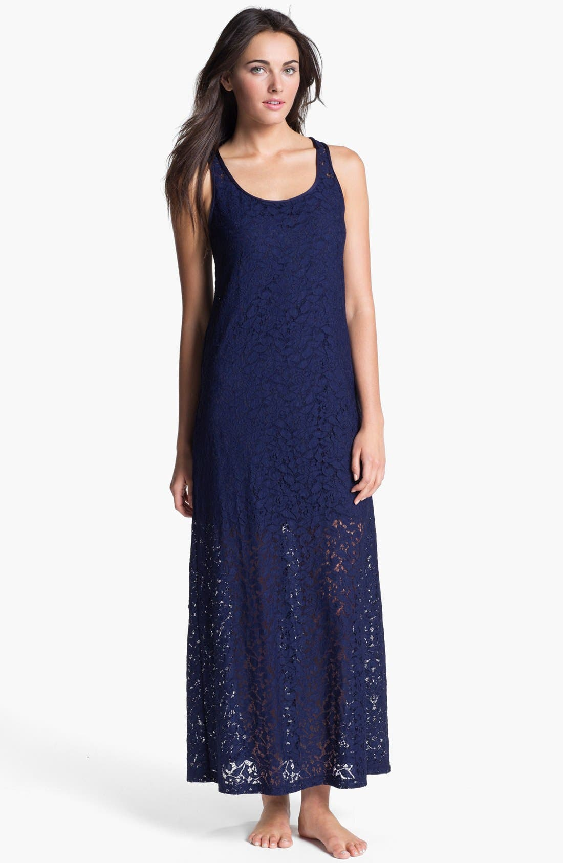 Main Image - Tommy Bahama Lace Cover-Up Dress