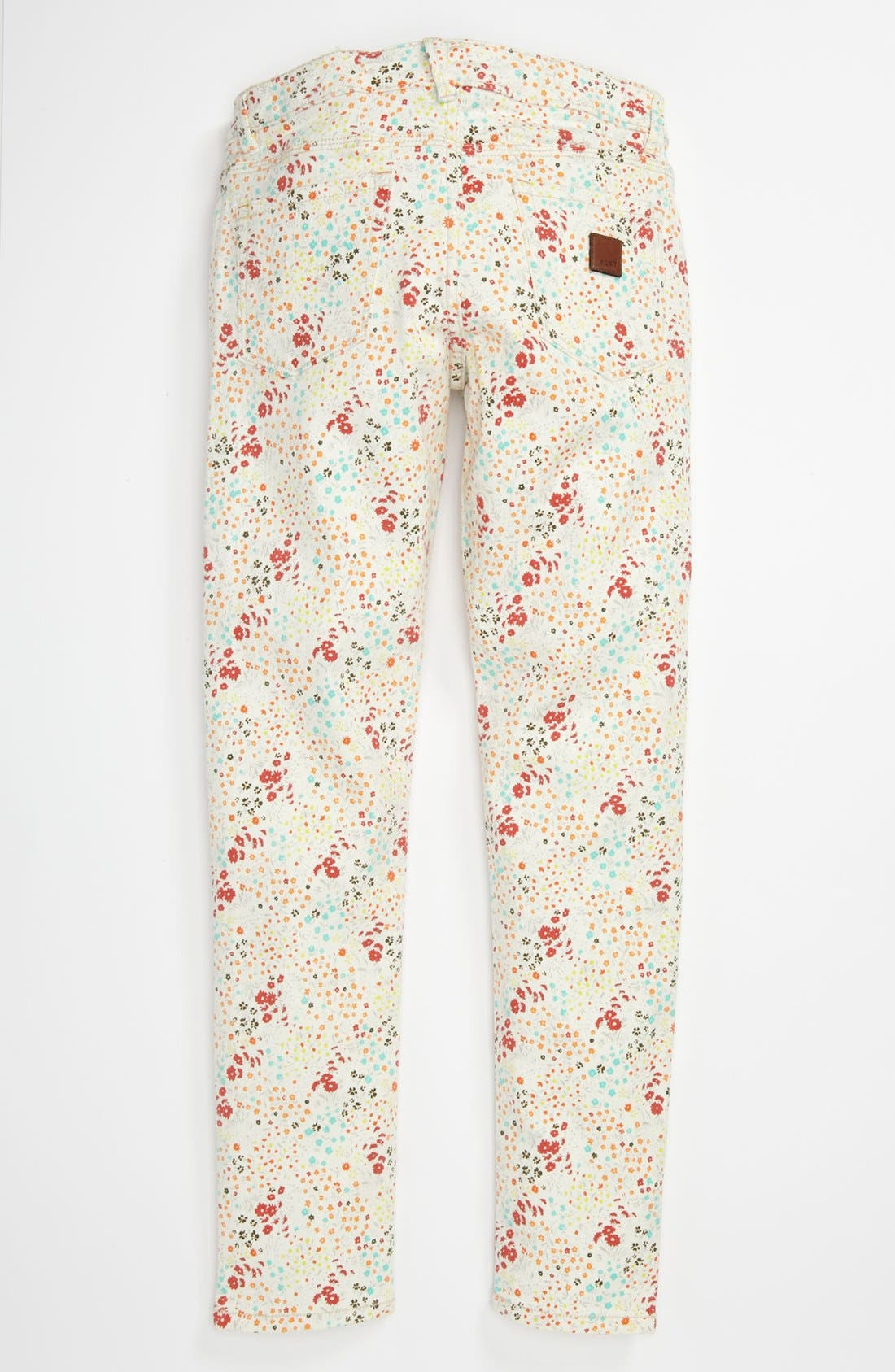 Alternate Image 1 Selected - 'Skinny Rails' Skinny Leg Jeans (Big Girls)