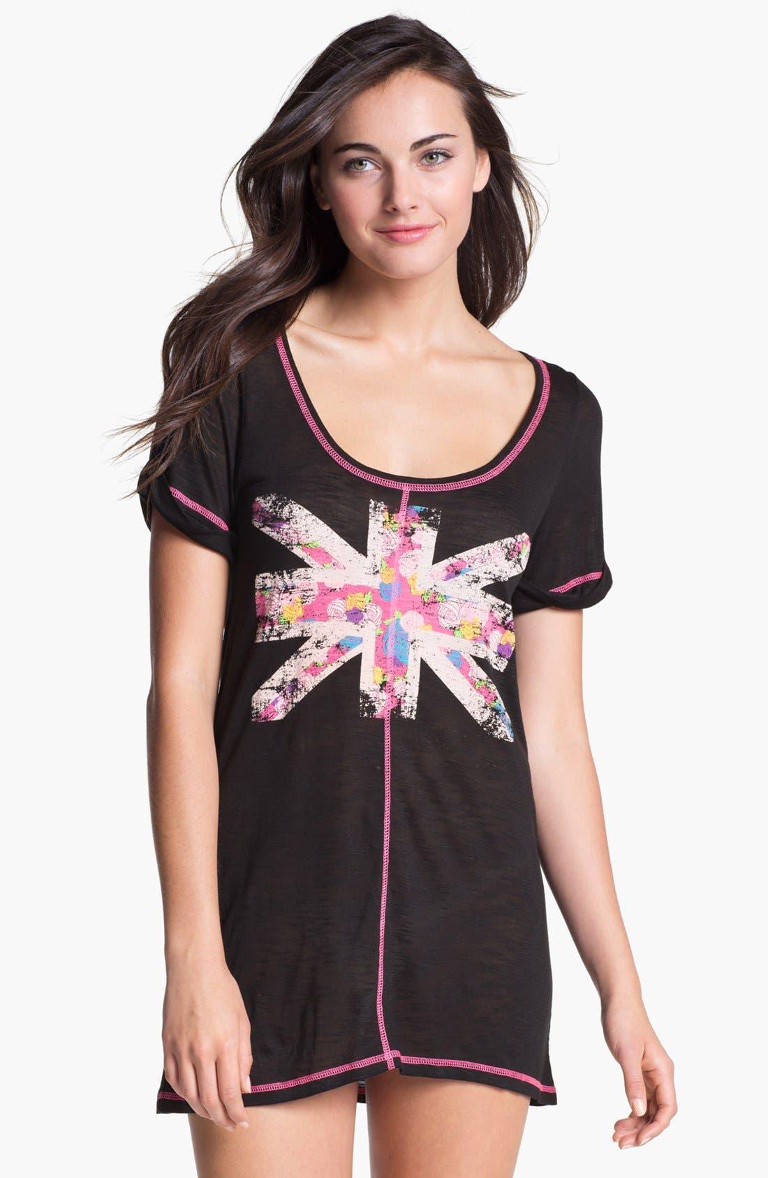 Main Image - Honeydew Intimates Graphic Print Tunic Sleep Shirt