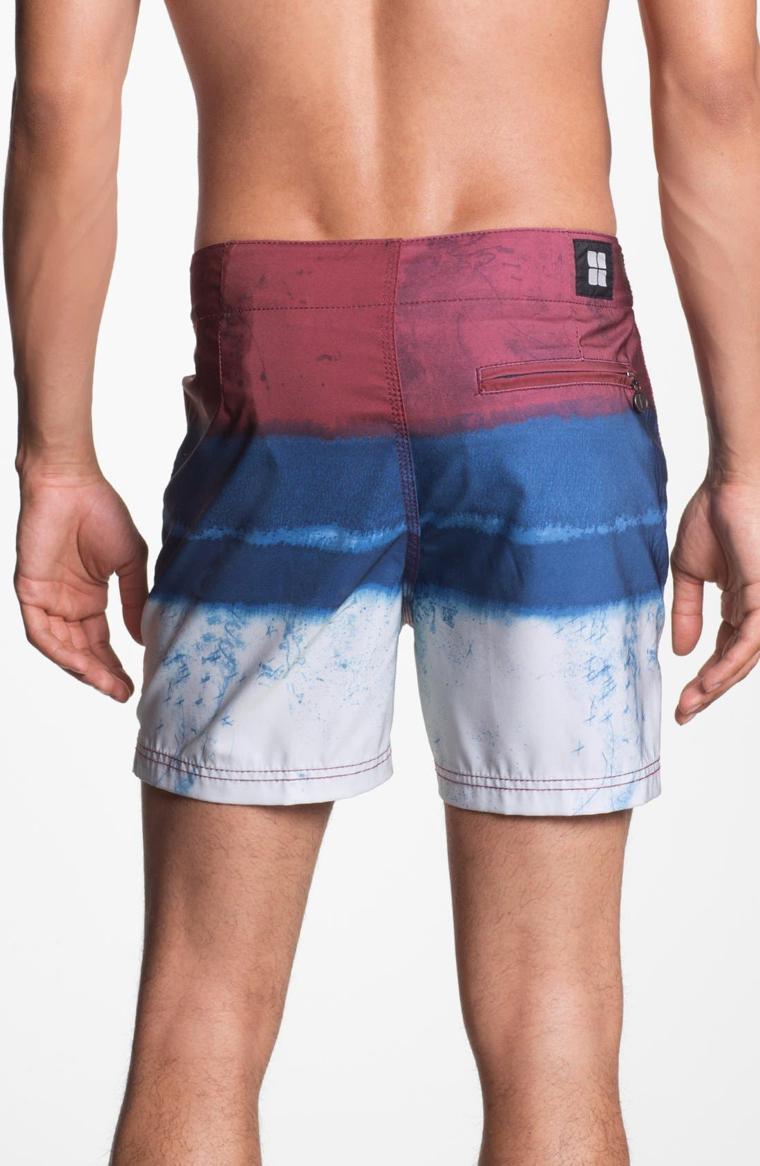 Alternate Image 2  - Insight 'Le Blur - Bunker' Board Shorts