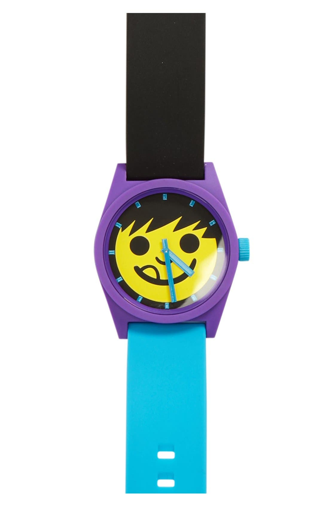 Main Image - Neff 'Daily' Rubber Strap Watch, 40mm