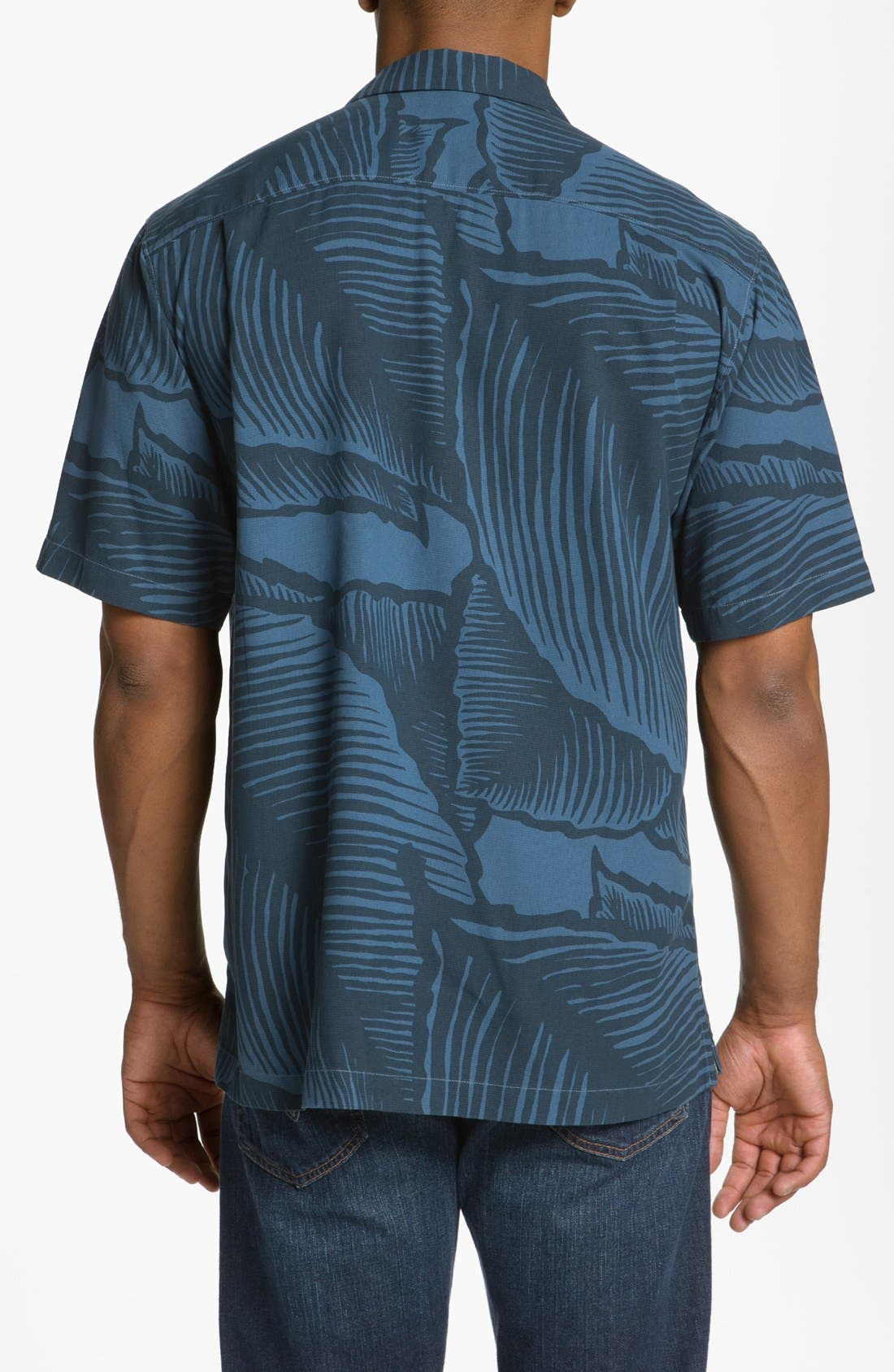 Alternate Image 2  - Tommy Bahama 'Grand Frond' Campshirt (Big & Tall)