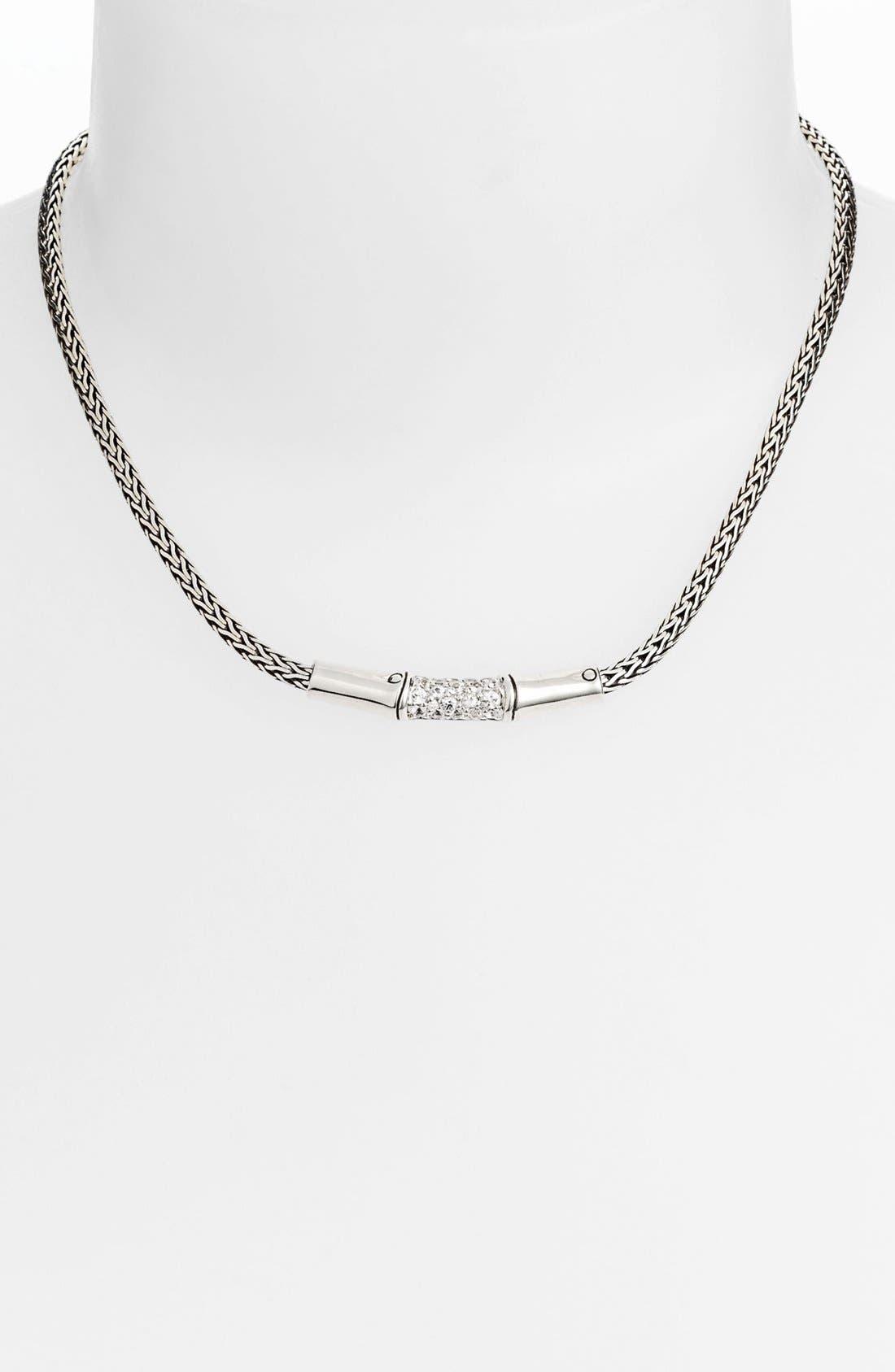 Main Image - John Hardy 'Bamboo - Lava' Chain Necklace