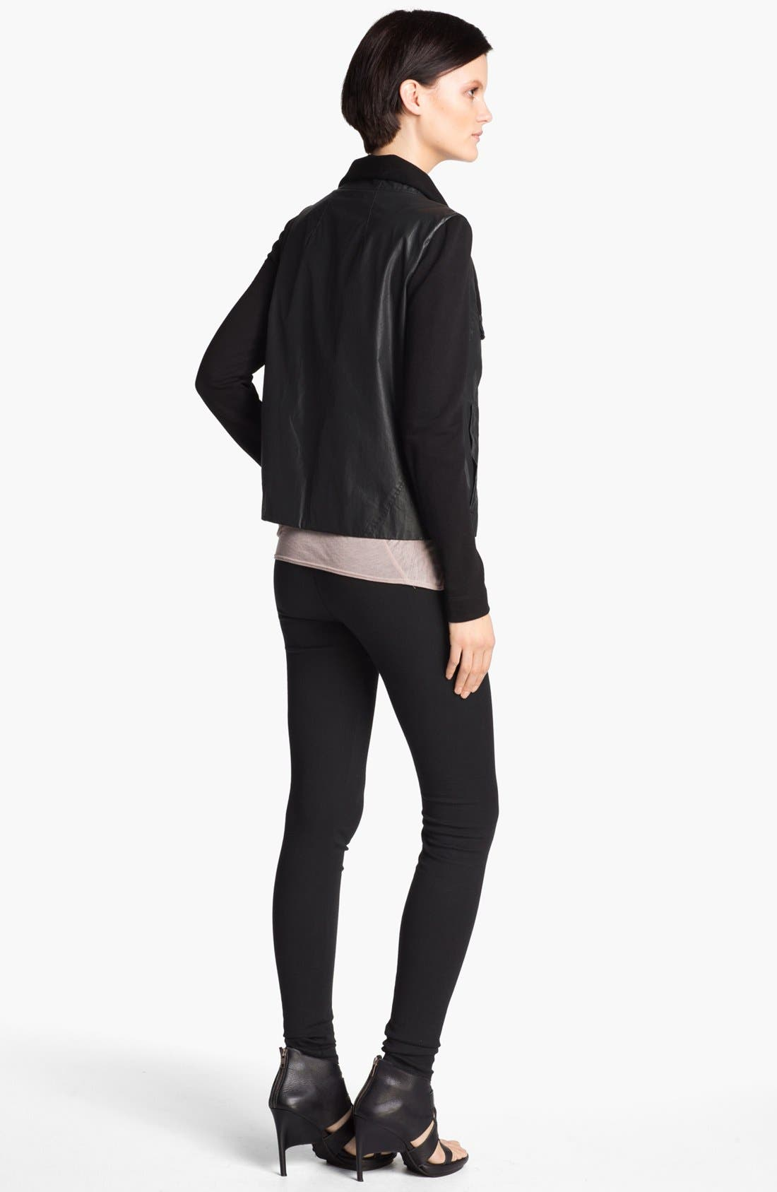 Alternate Image 5  - HELMUT Helmut Lang Glazed Cotton Jacket
