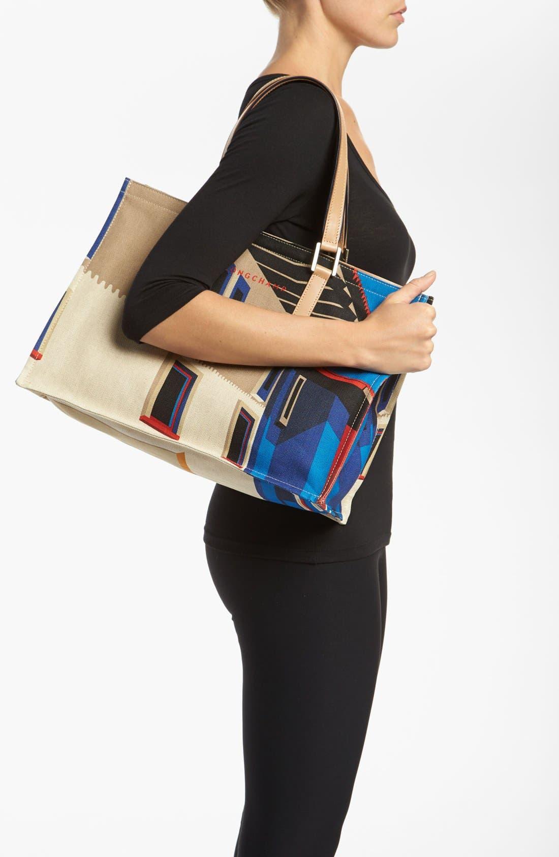 Alternate Image 2  - Longchamp 'Finca Luisa - Medium' Canvas Tote