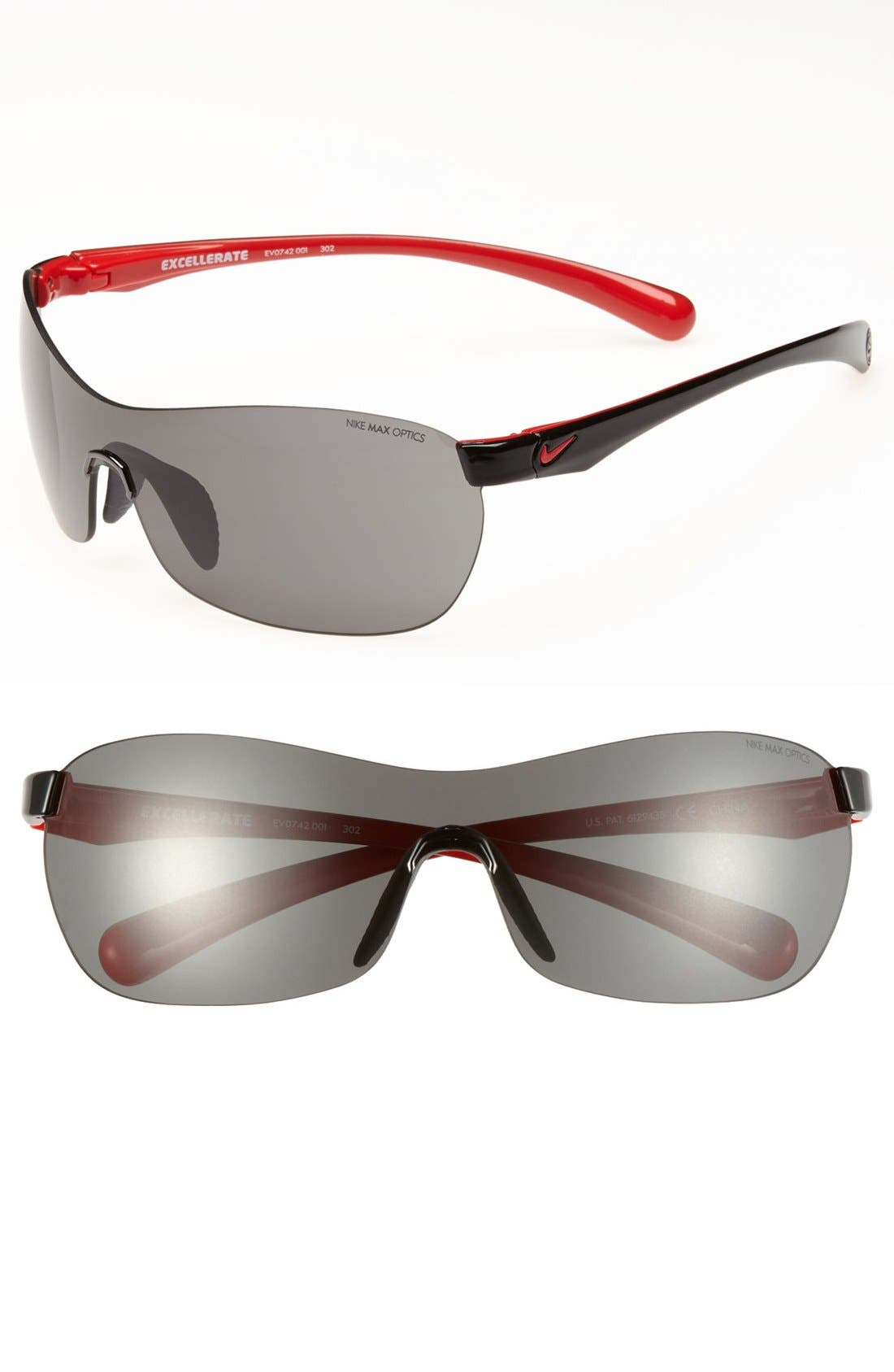 Main Image - Nike 'Excellerate' 62mm Sunglasses