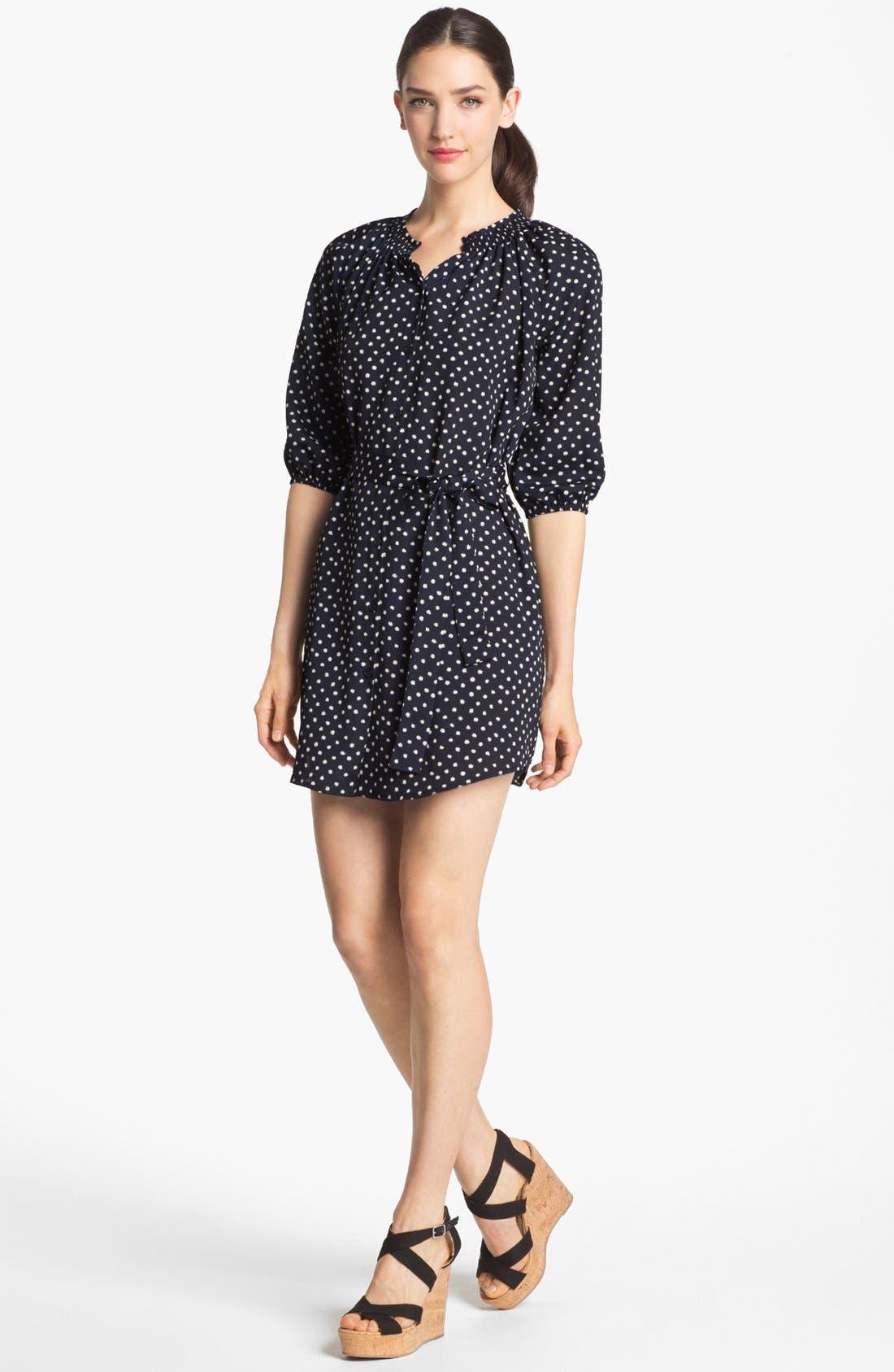 Main Image - Collective Concepts Polka Dot Shirtdress