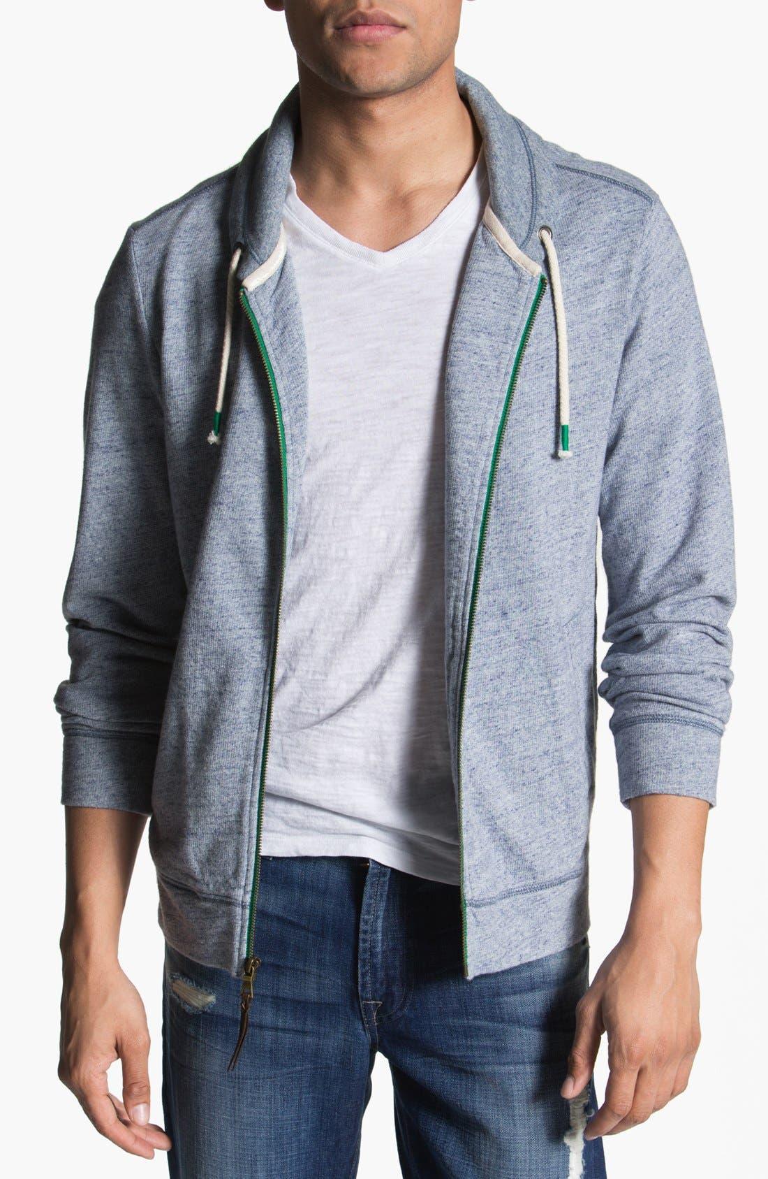 Main Image - Howe 'Lipstick Trick' Shawl Collar Sweatshirt