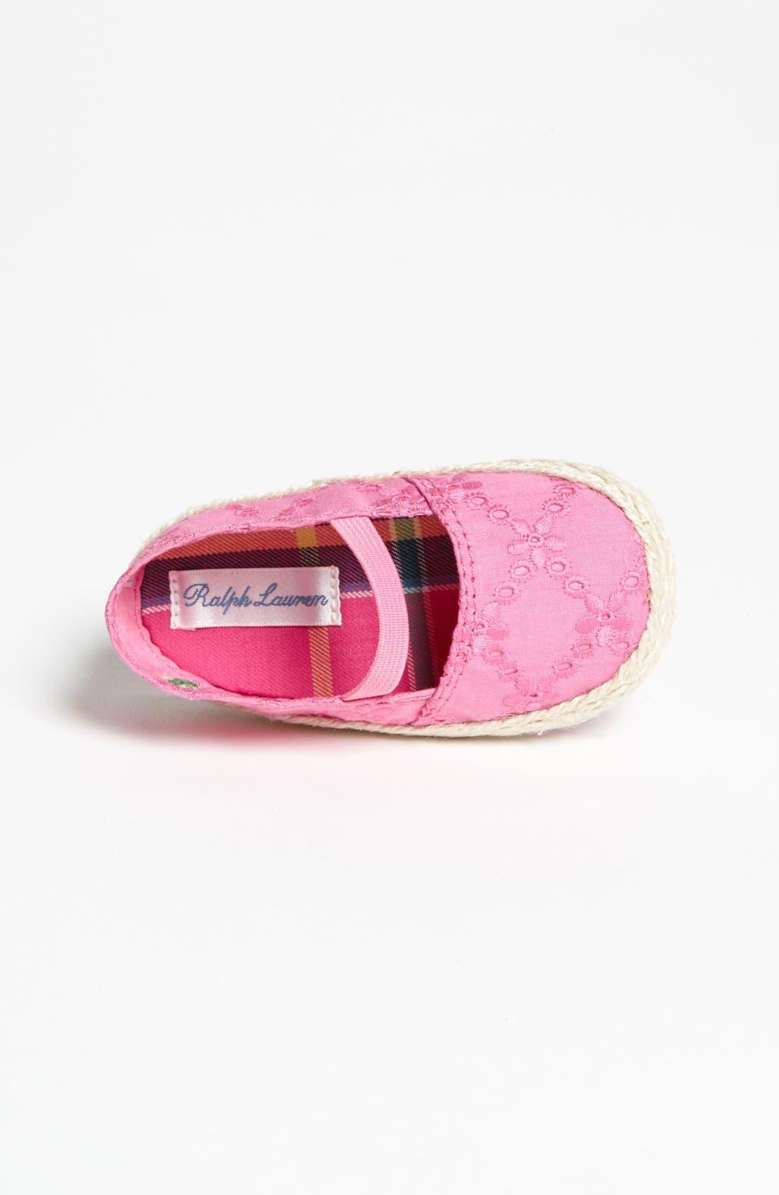 Alternate Image 3  - Ralph Lauren Layette Slip-On (Baby)