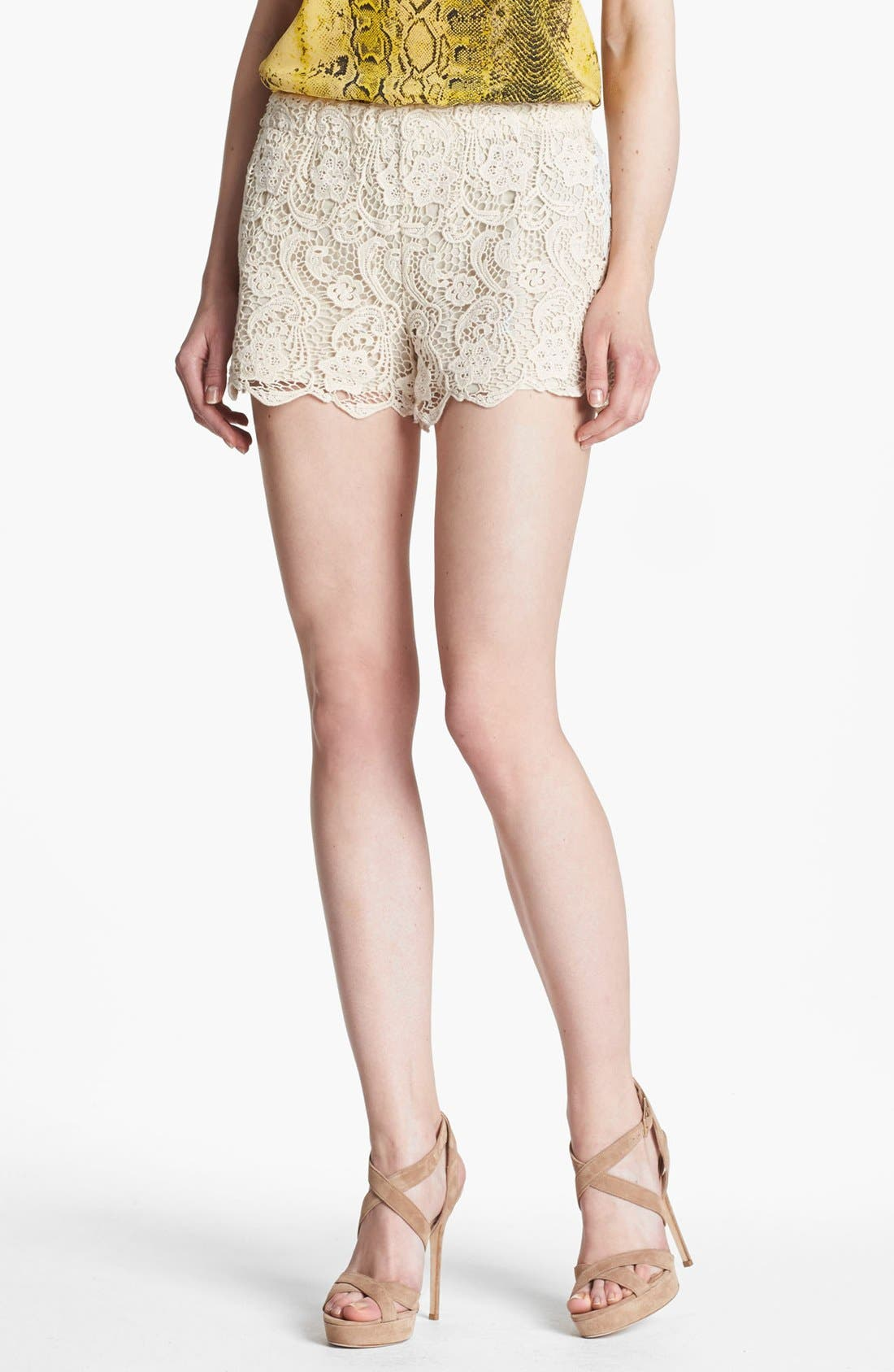Alternate Image 1 Selected - Joie 'Denita' Lace Shorts