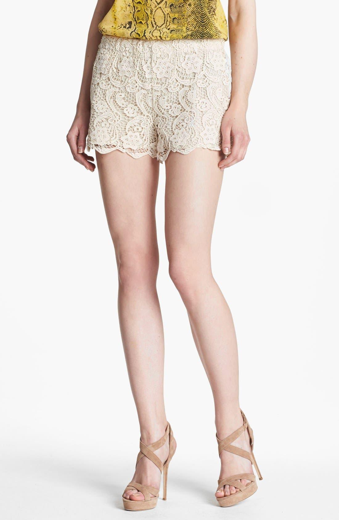 Main Image - Joie 'Denita' Lace Shorts