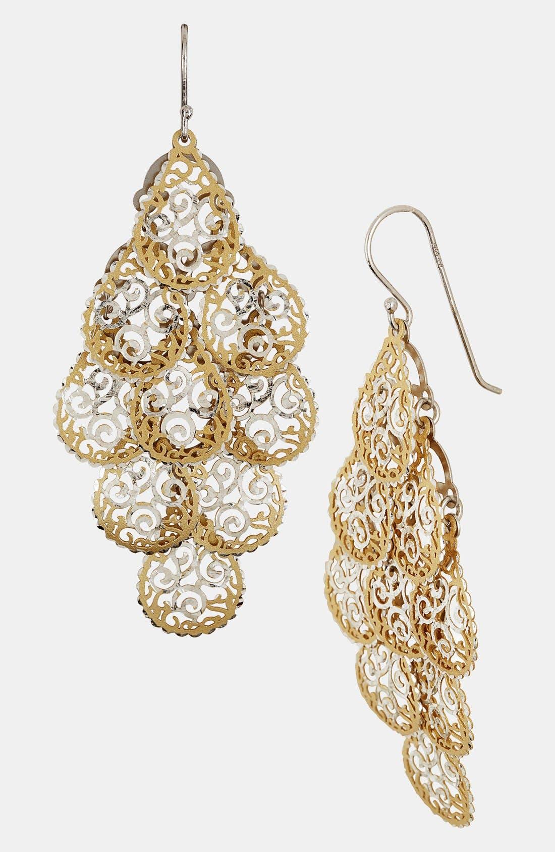 Alternate Image 1 Selected - Argento Vivo Chandelier Earrings