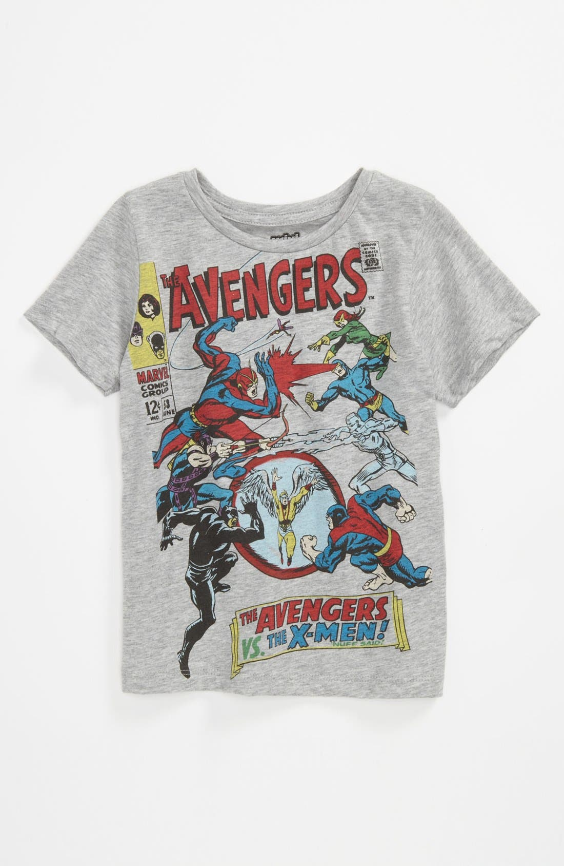 Main Image - Mighty Fine 'Avengers™ Covers' T-Shirt (Little Boys)