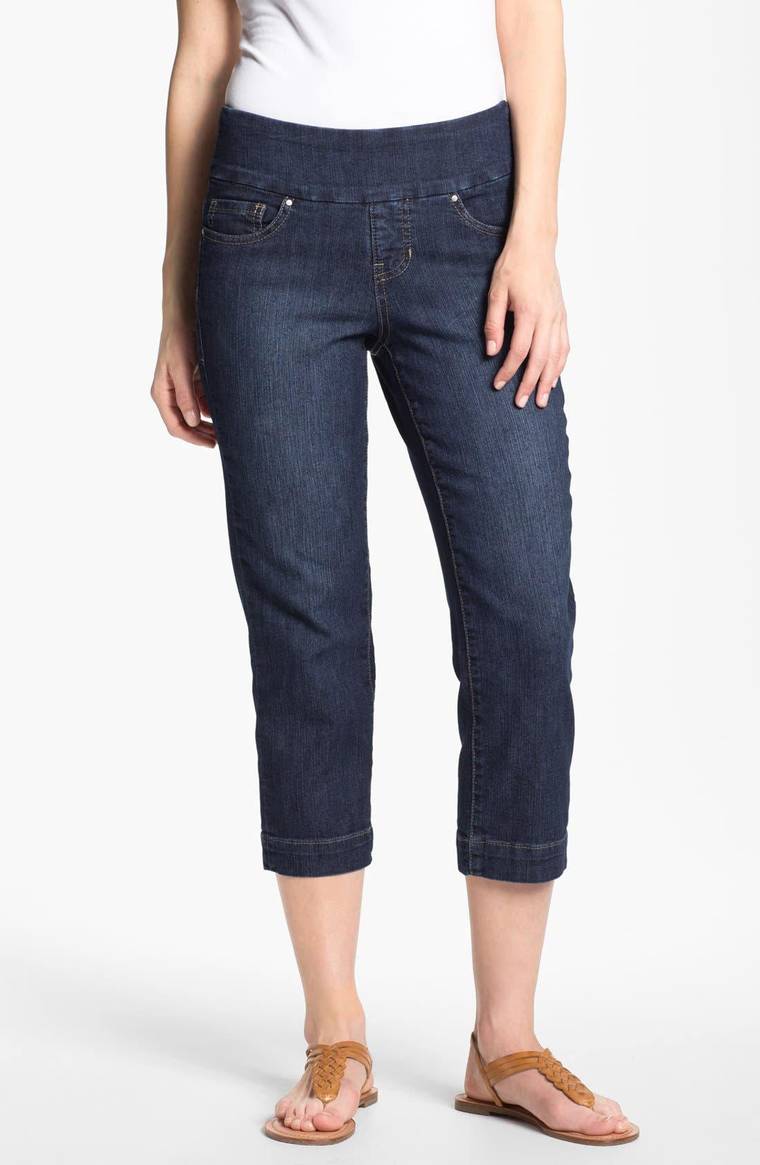 Alternate Image 1 Selected - Jag Jeans 'Fenmore' Crop Stretch Jeans