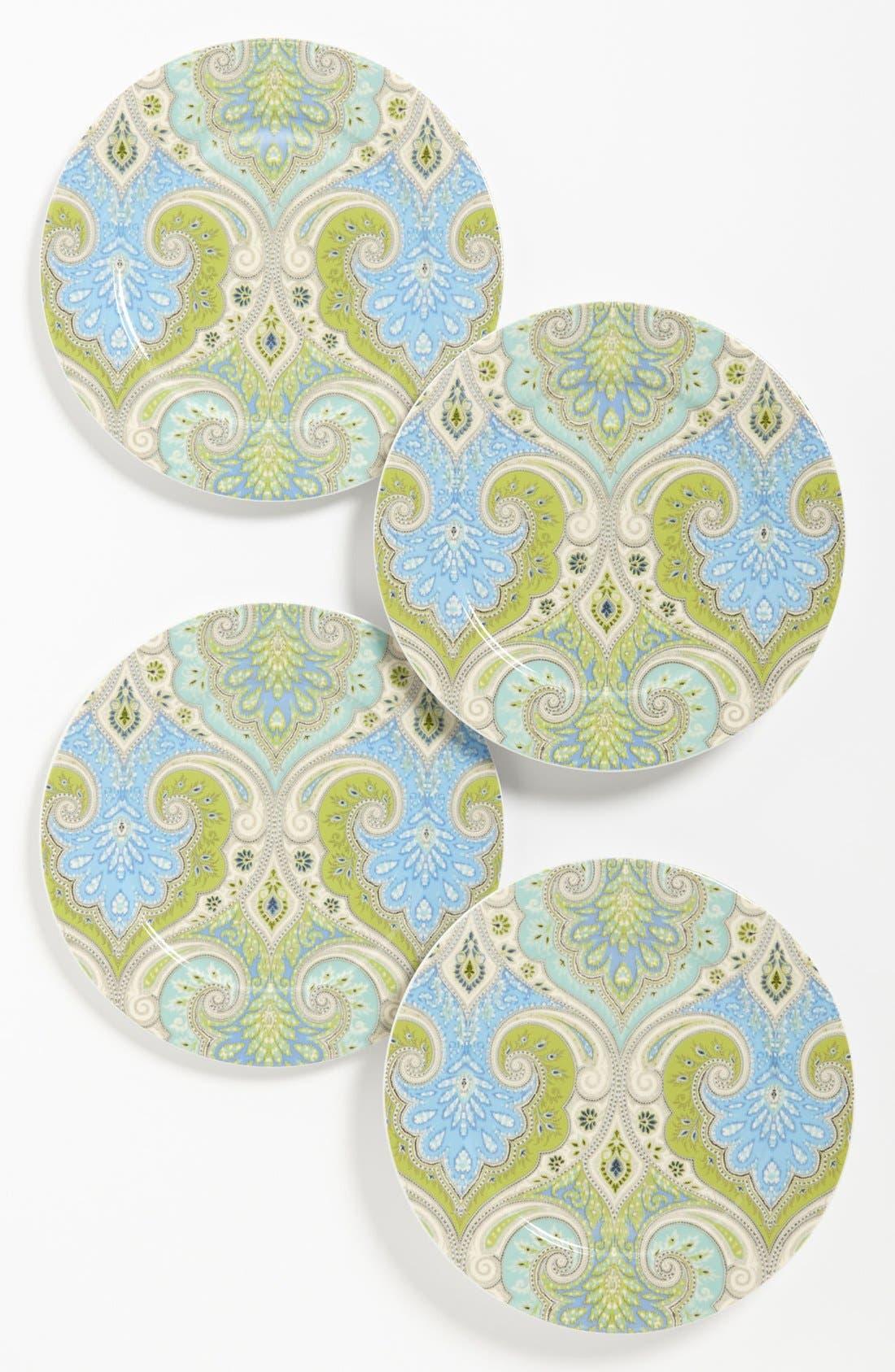 Alternate Image 1 Selected - Echo 'Latika - Seafoam' Salad Plates (Set of 4)