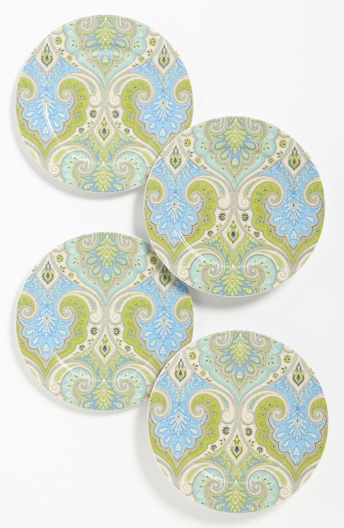 Main Image - Echo 'Latika - Seafoam' Salad Plates (Set of 4)