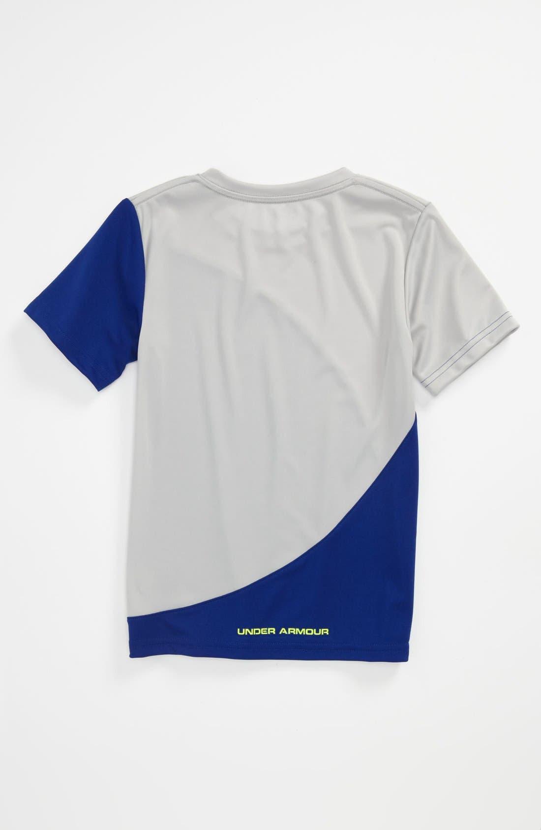 Alternate Image 2  - Under Armour 'Flip' HeatGear® T-Shirt (Little Boys)