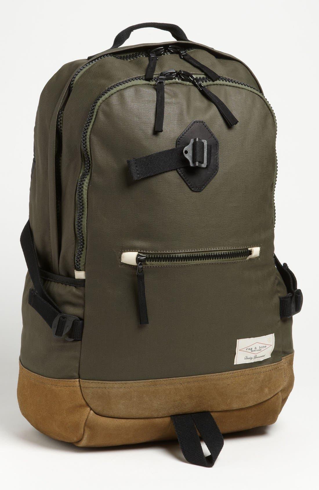 Alternate Image 1 Selected - rag & bone Canvas Backpack