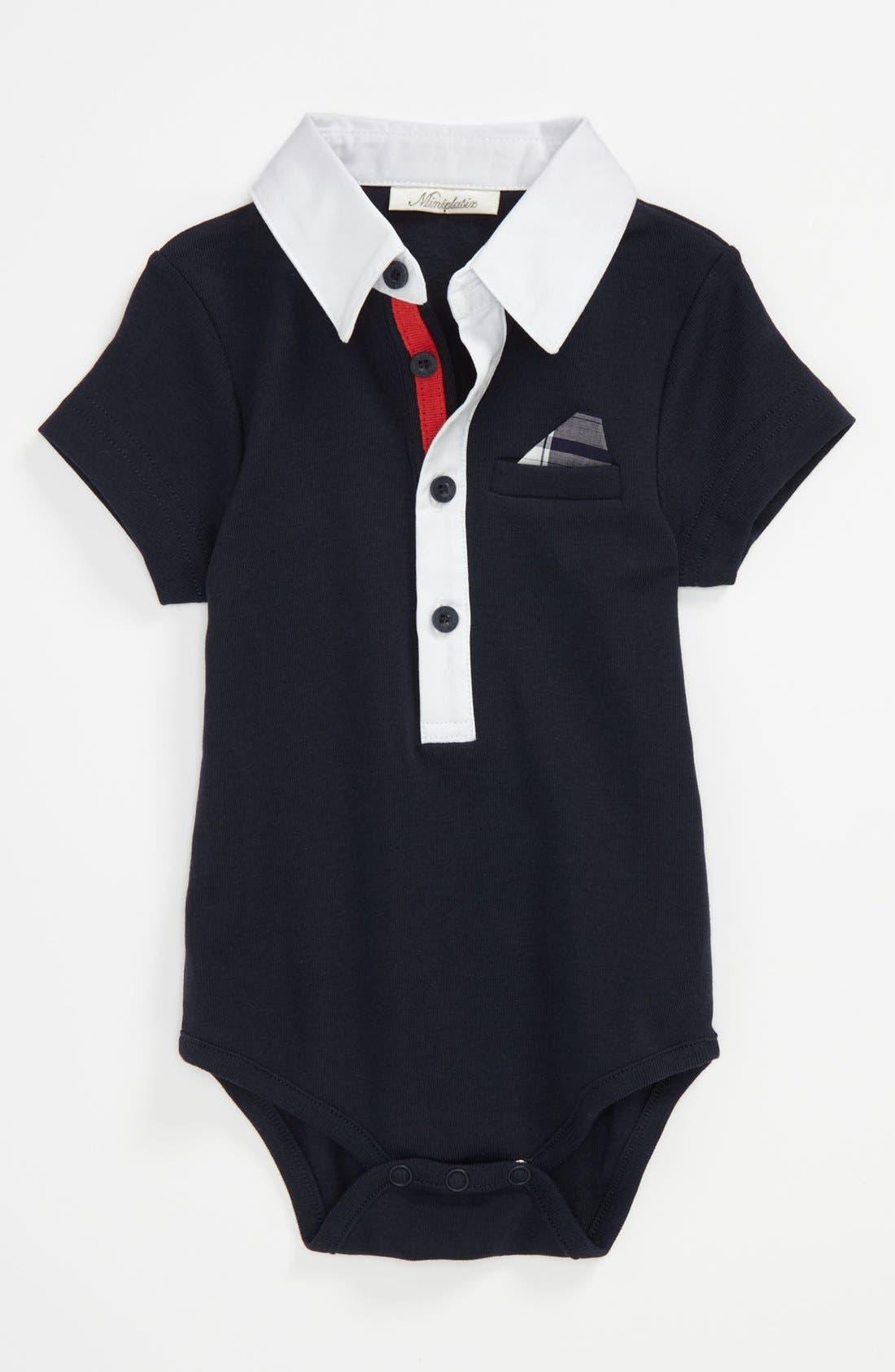 Alternate Image 1 Selected - Miniclasix Bodysuit (Baby)