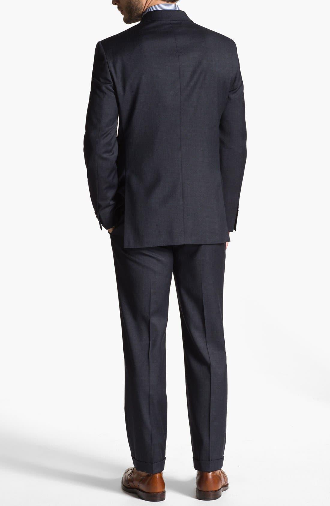 Alternate Image 3  - John Varvatos Star USA 'Townshend' Trim Fit Wool Suit